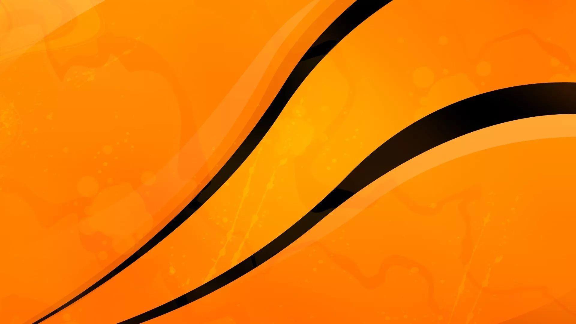 Black And Orange beautiful wallpaper
