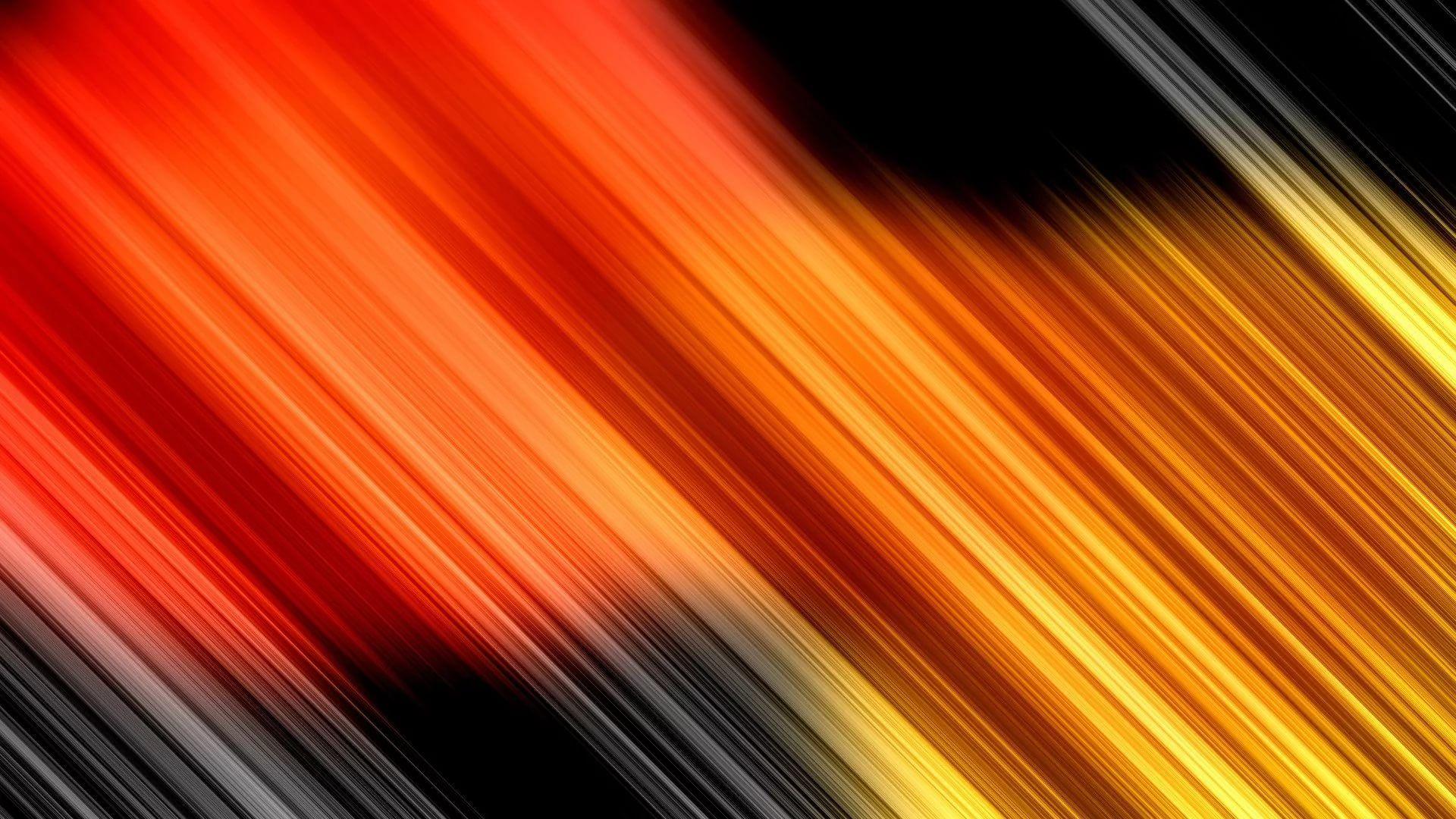 Black And Orange screen wallpaper
