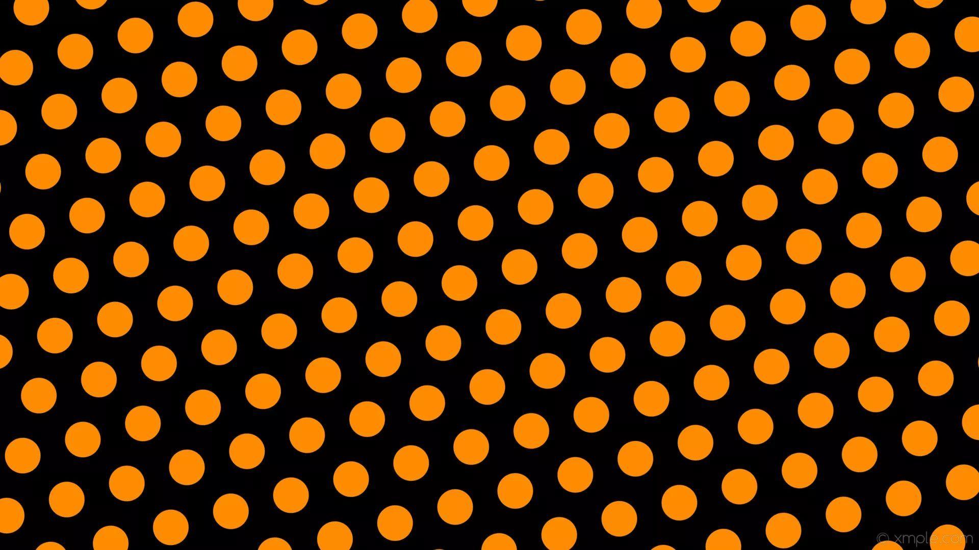 Black And Orange HD 1080 wallpaper