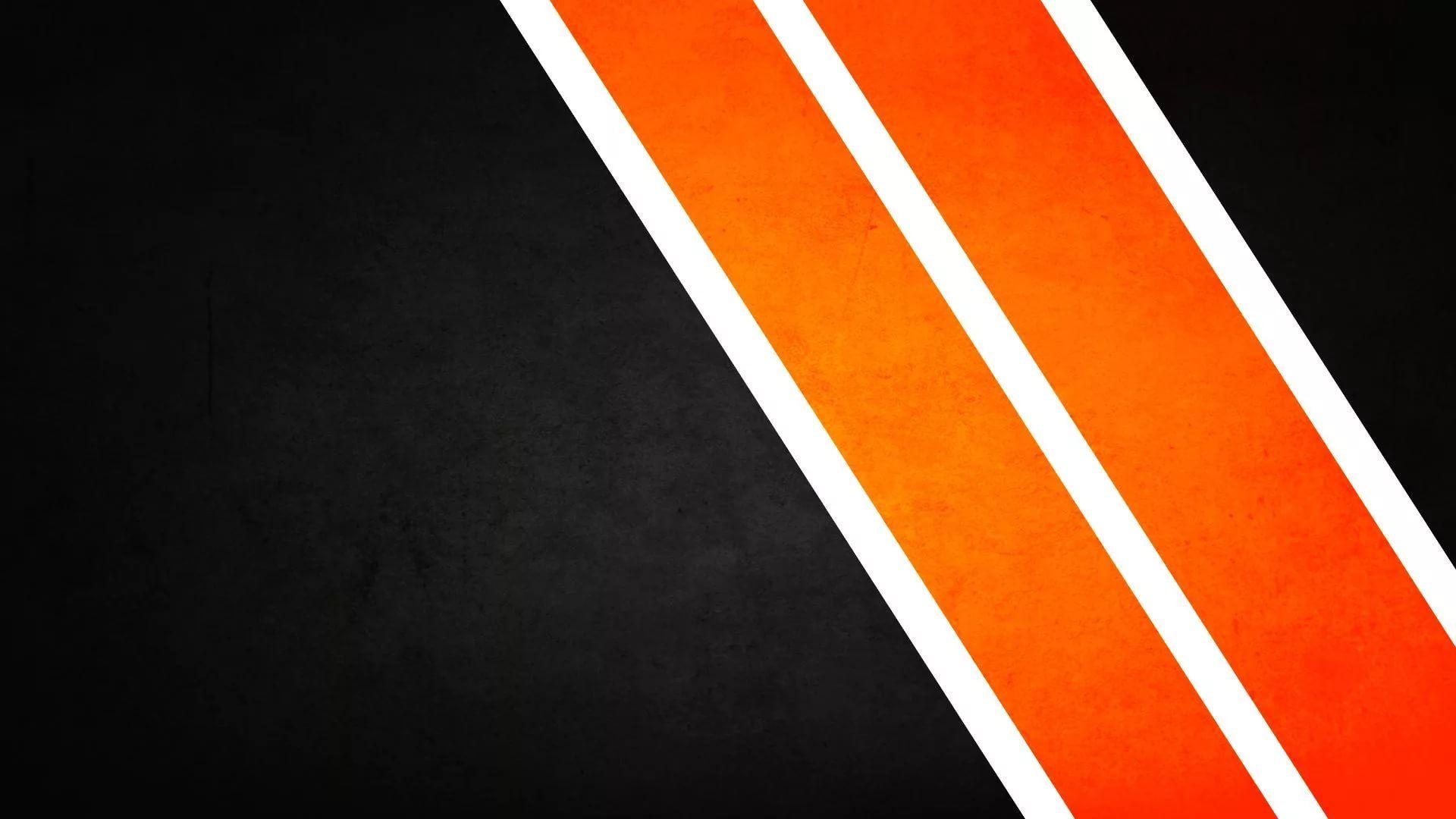 Black And Orange a wallpaper