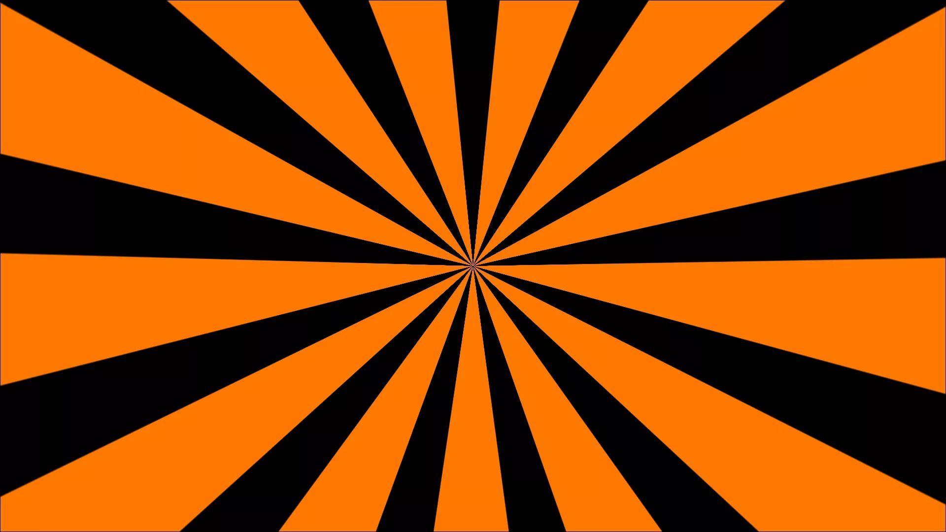Black And Orange Background Wallpaper HD