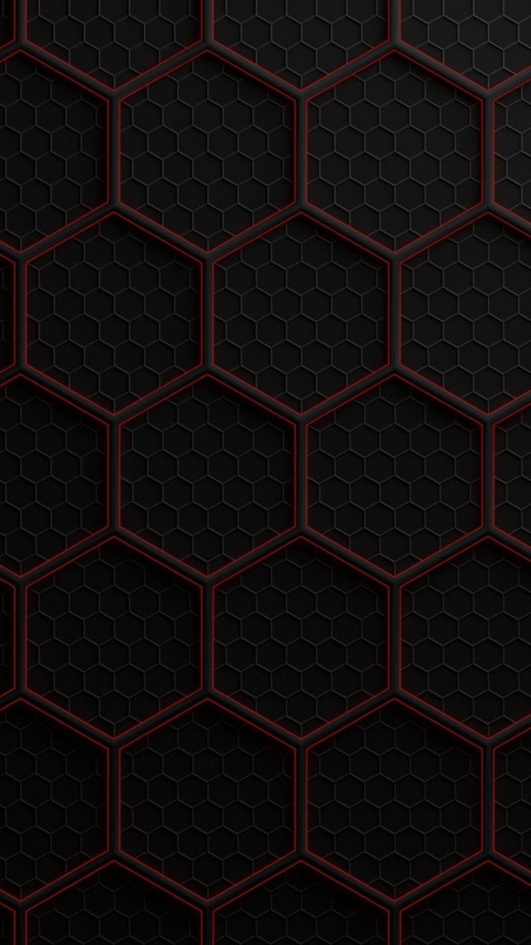 Black Red phone wallpaper