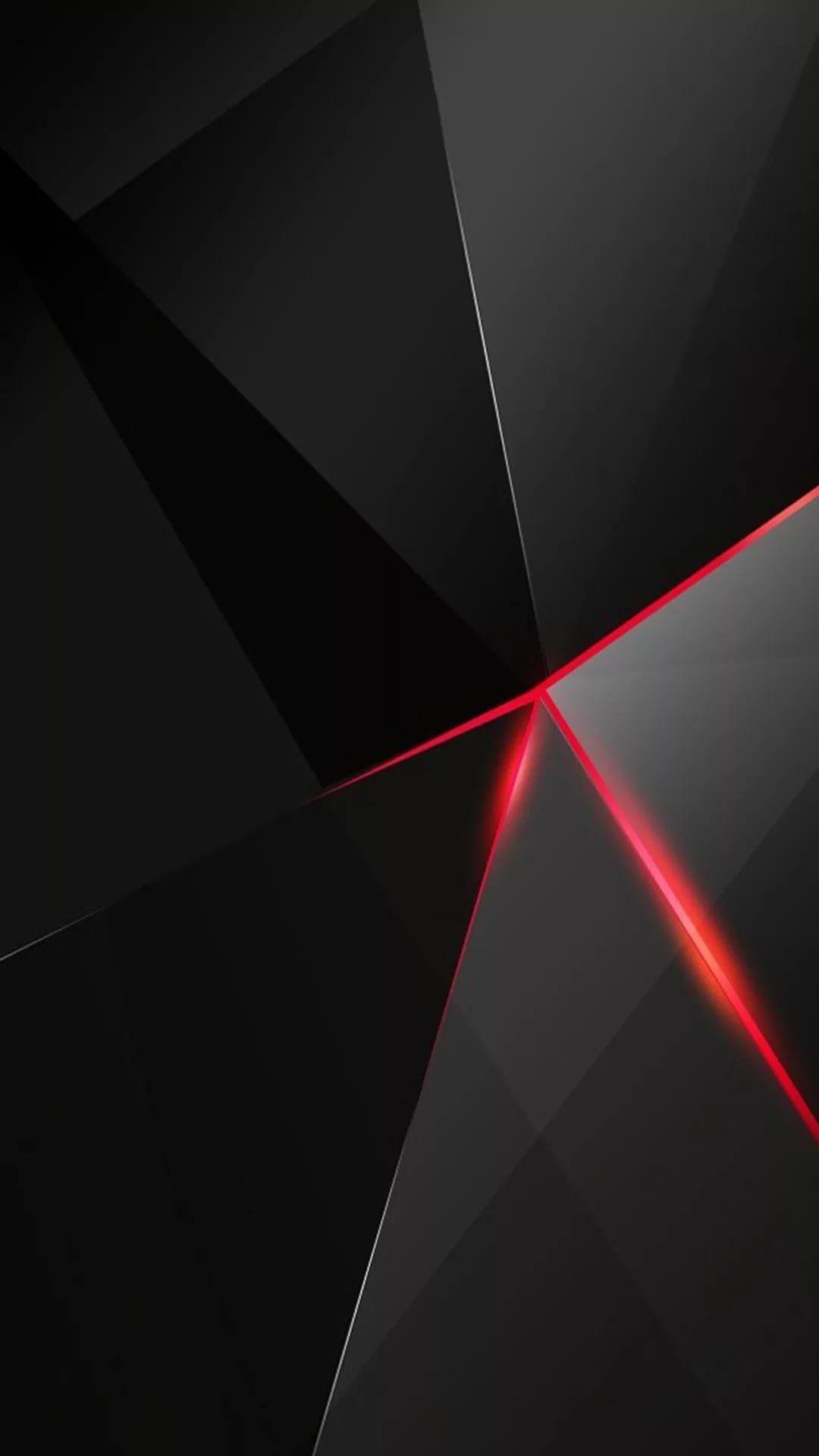 Black Red iPhone 7 wallpaper