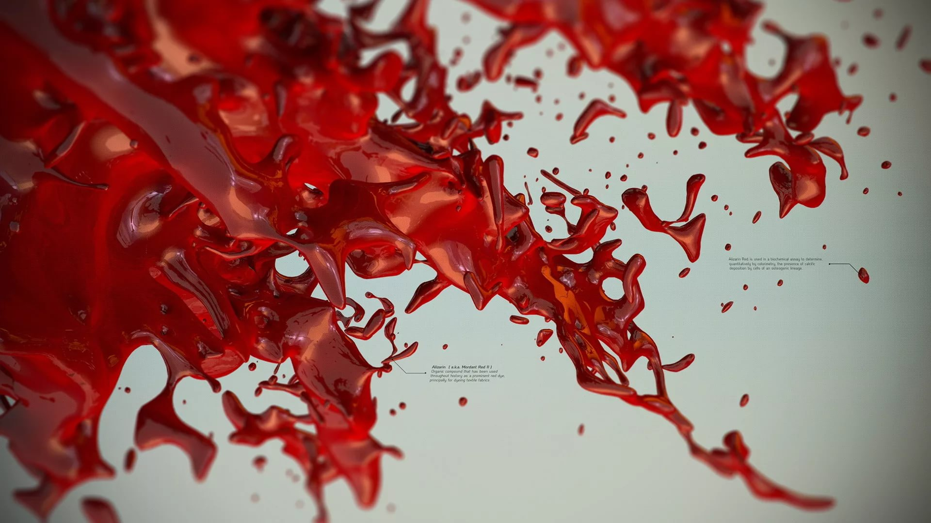 Blood desktop wallpaper