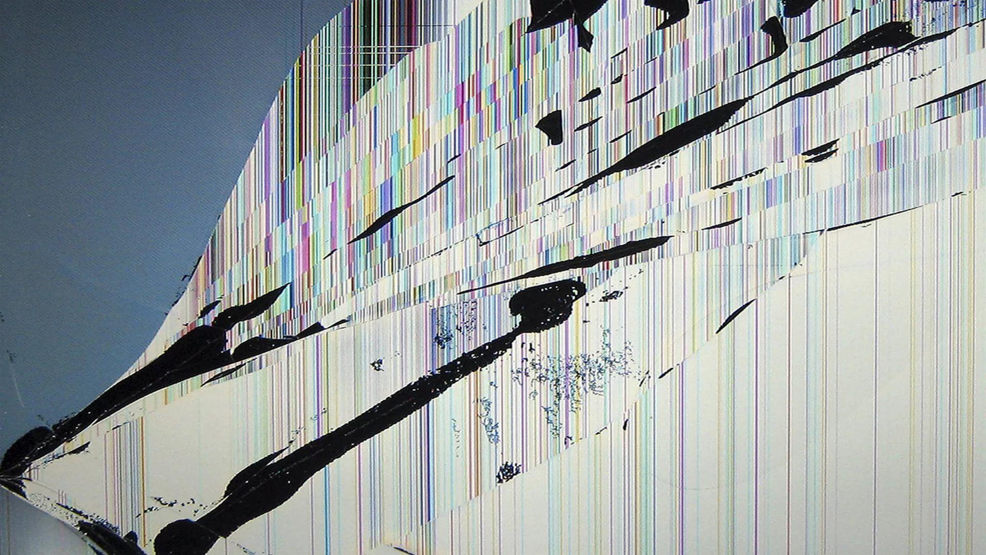 Broken Screen HD Desktop Wallpaper