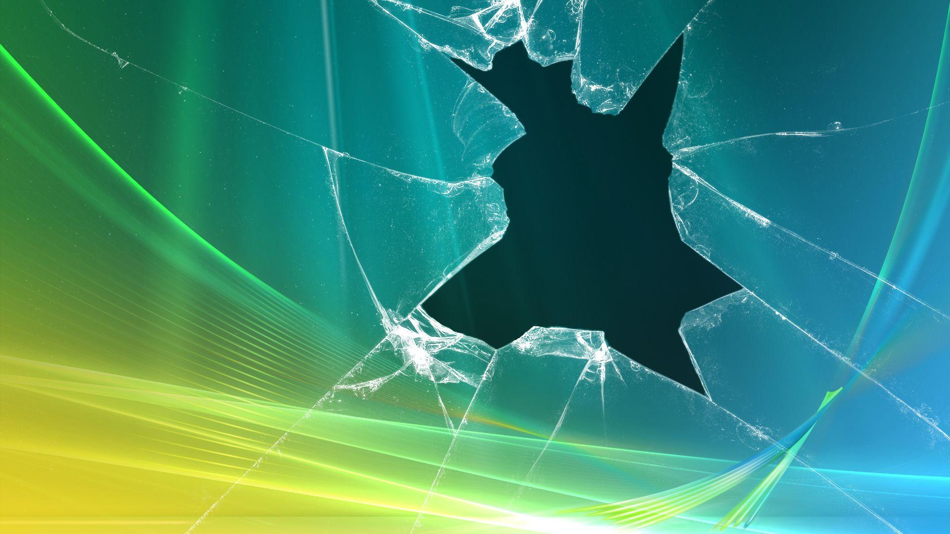 Broken Screen Free Download Wallpaper