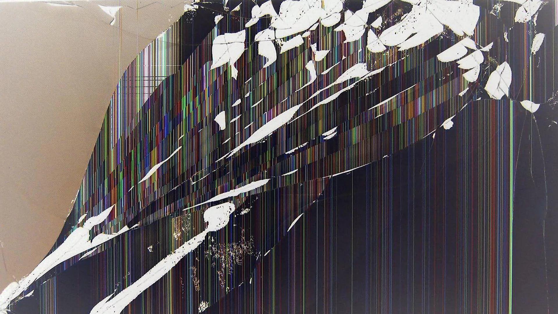 Broken Screen Desktop Wallpaper