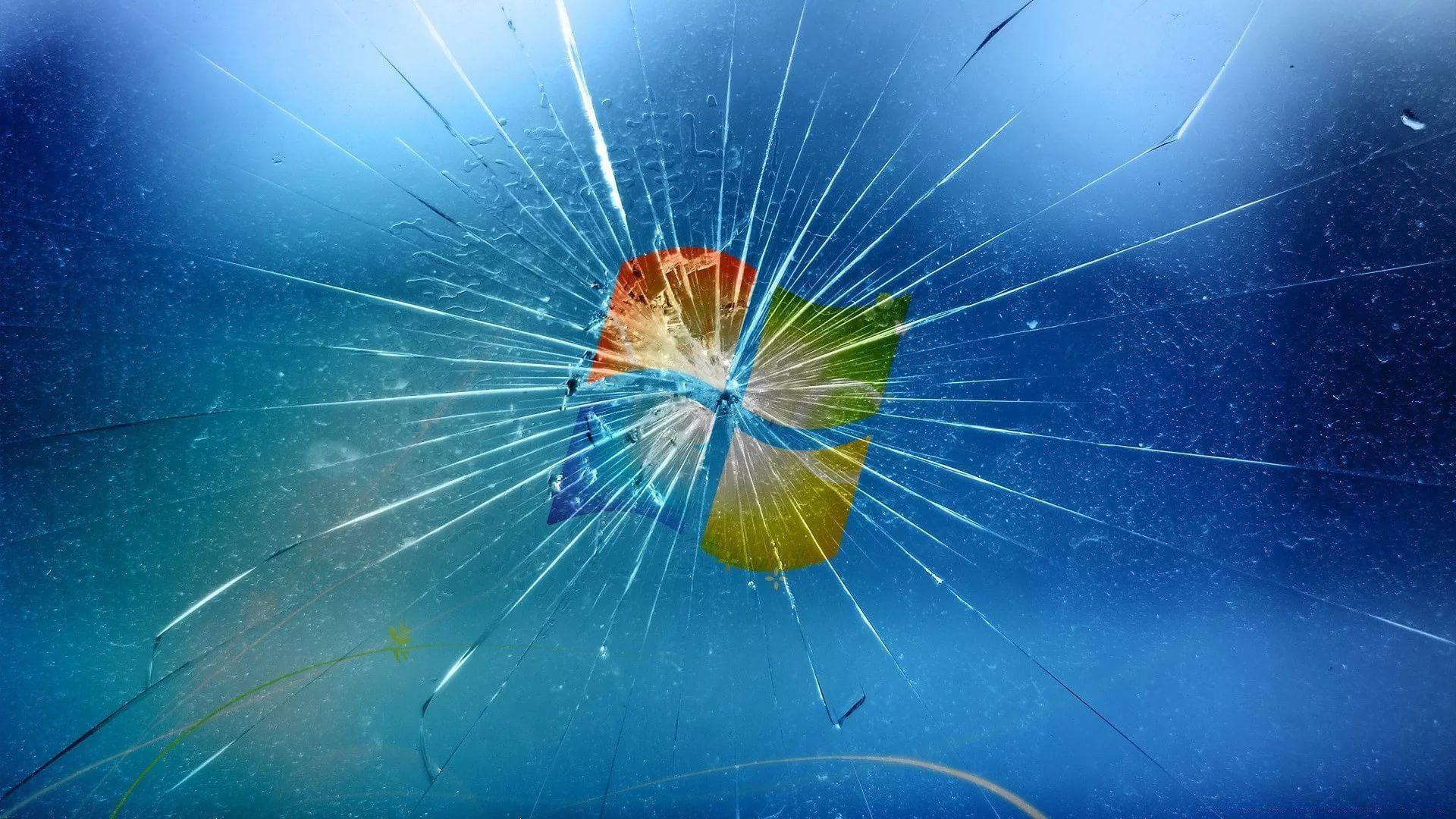 Broken Screen Image
