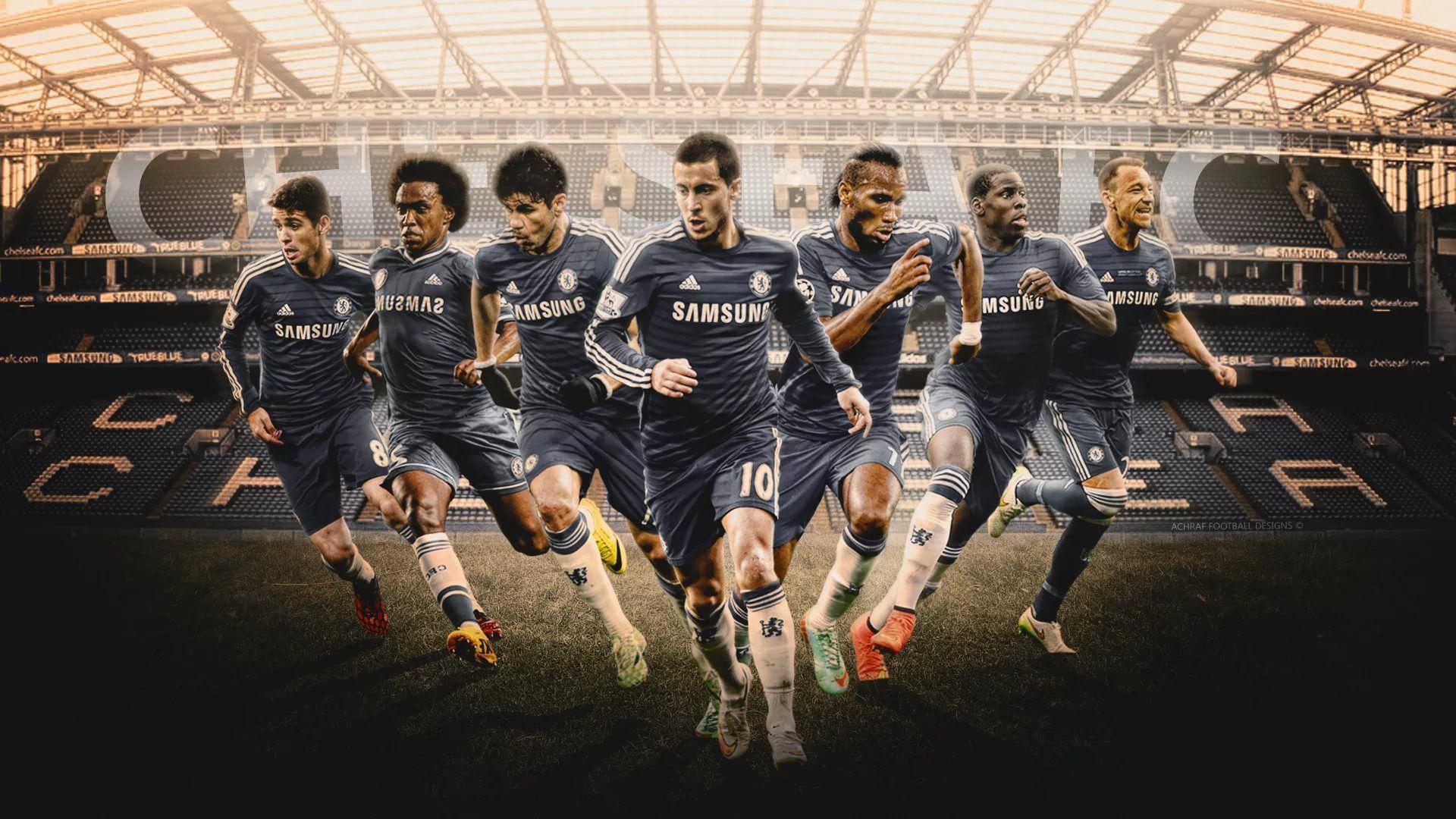 Chelsea screen wallpaper
