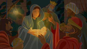 Christian Christmas Wallpaper Theme