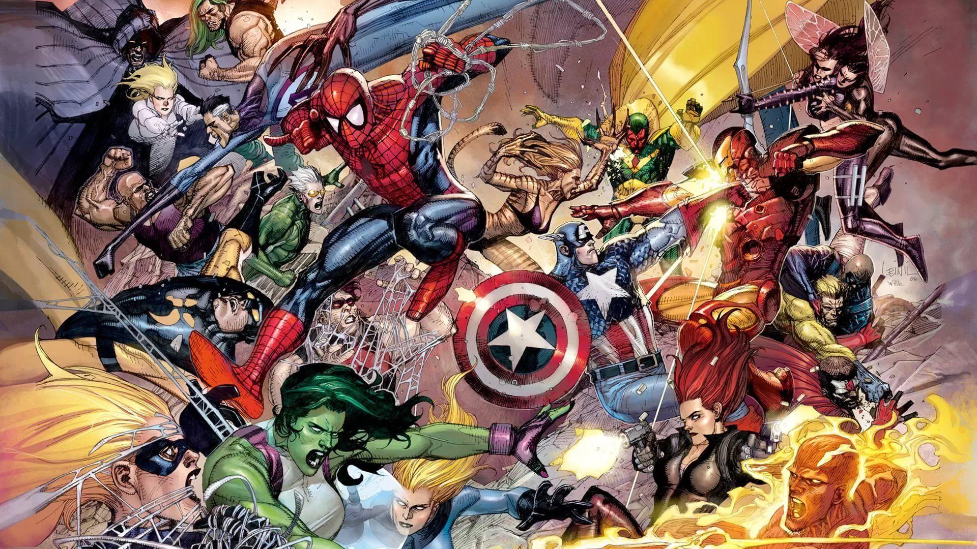Comic Book Wallpaper Image