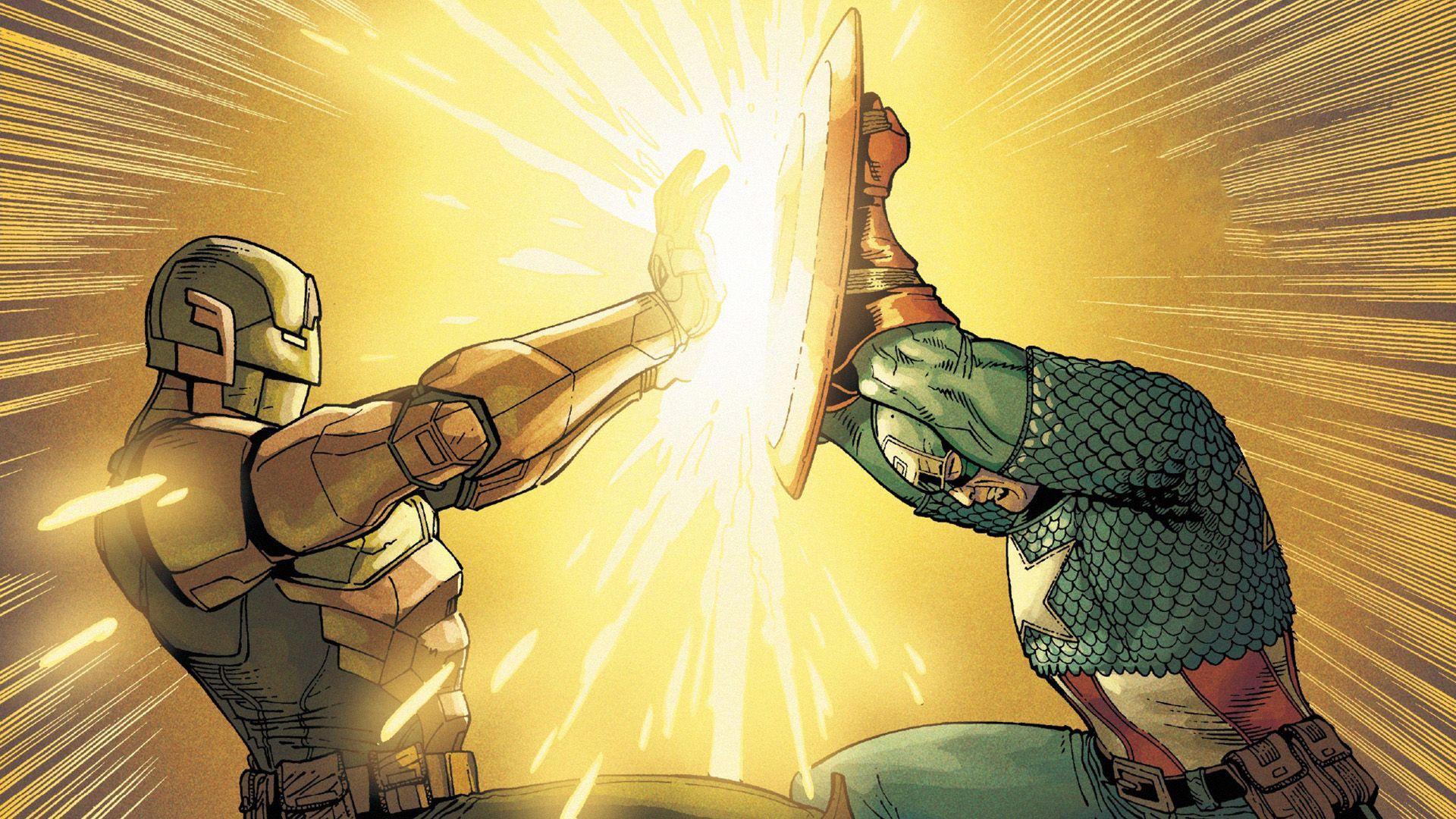 Comic Book Free Desktop Wallpaper