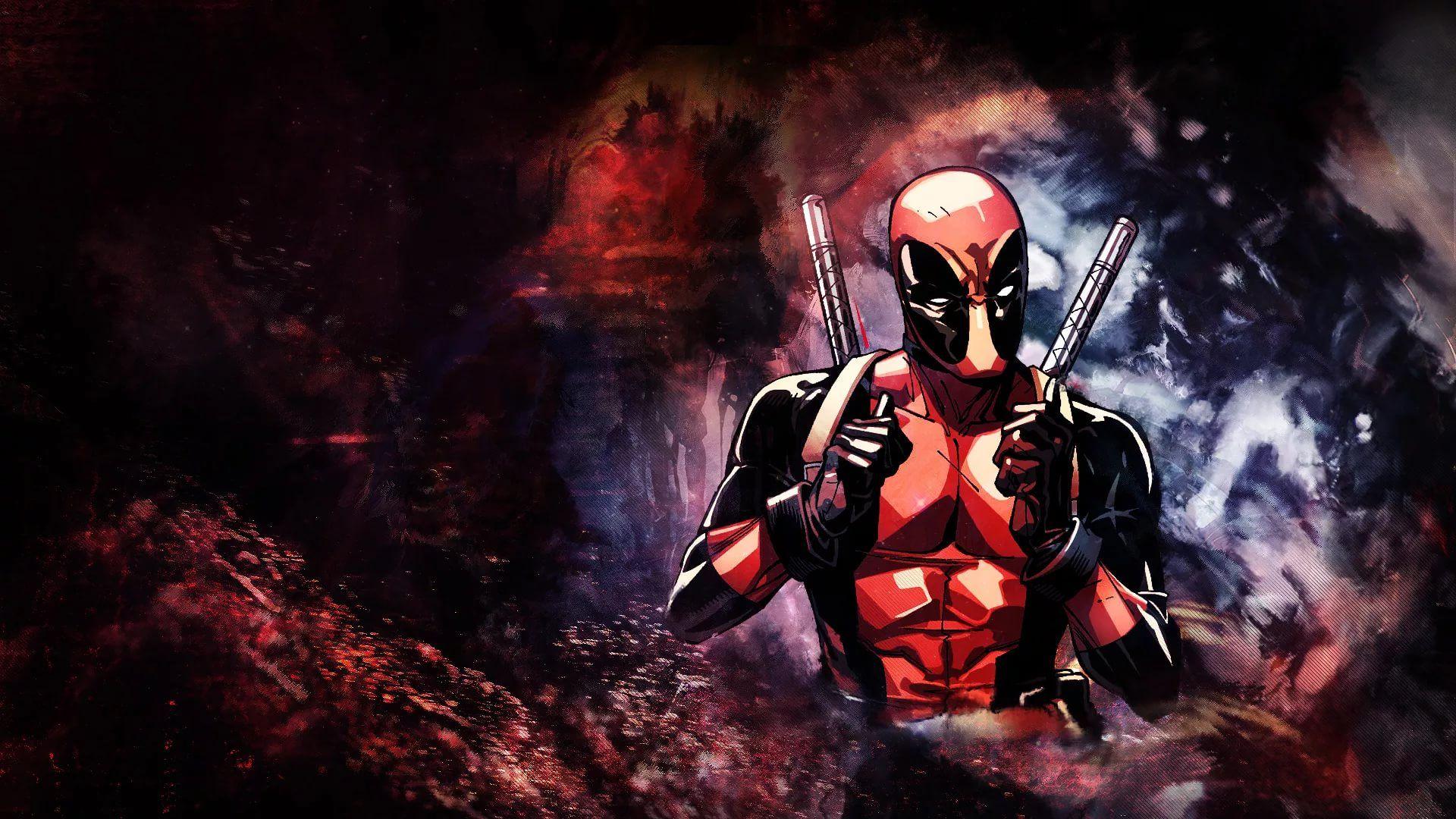 Cool Deadpool a wallpaper