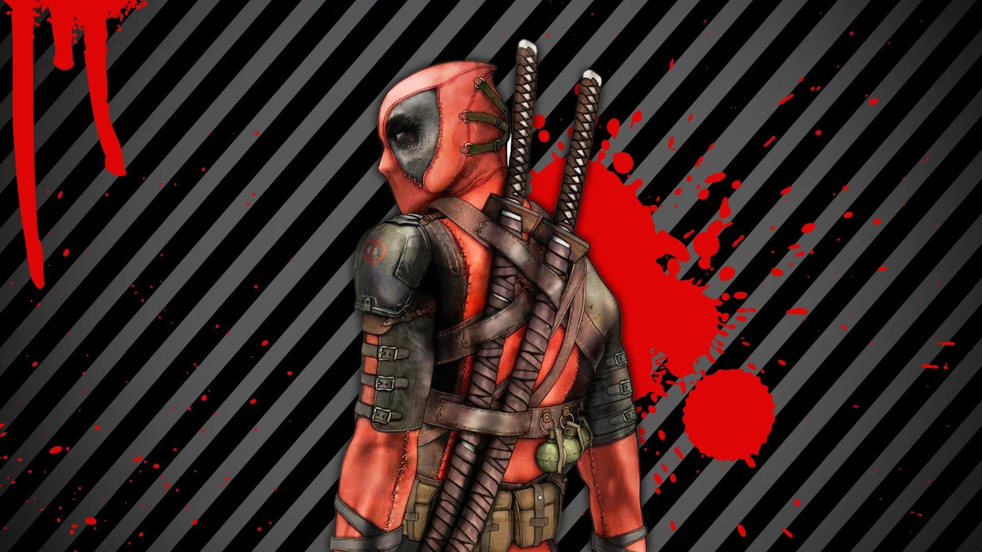 Cool Deadpool Background