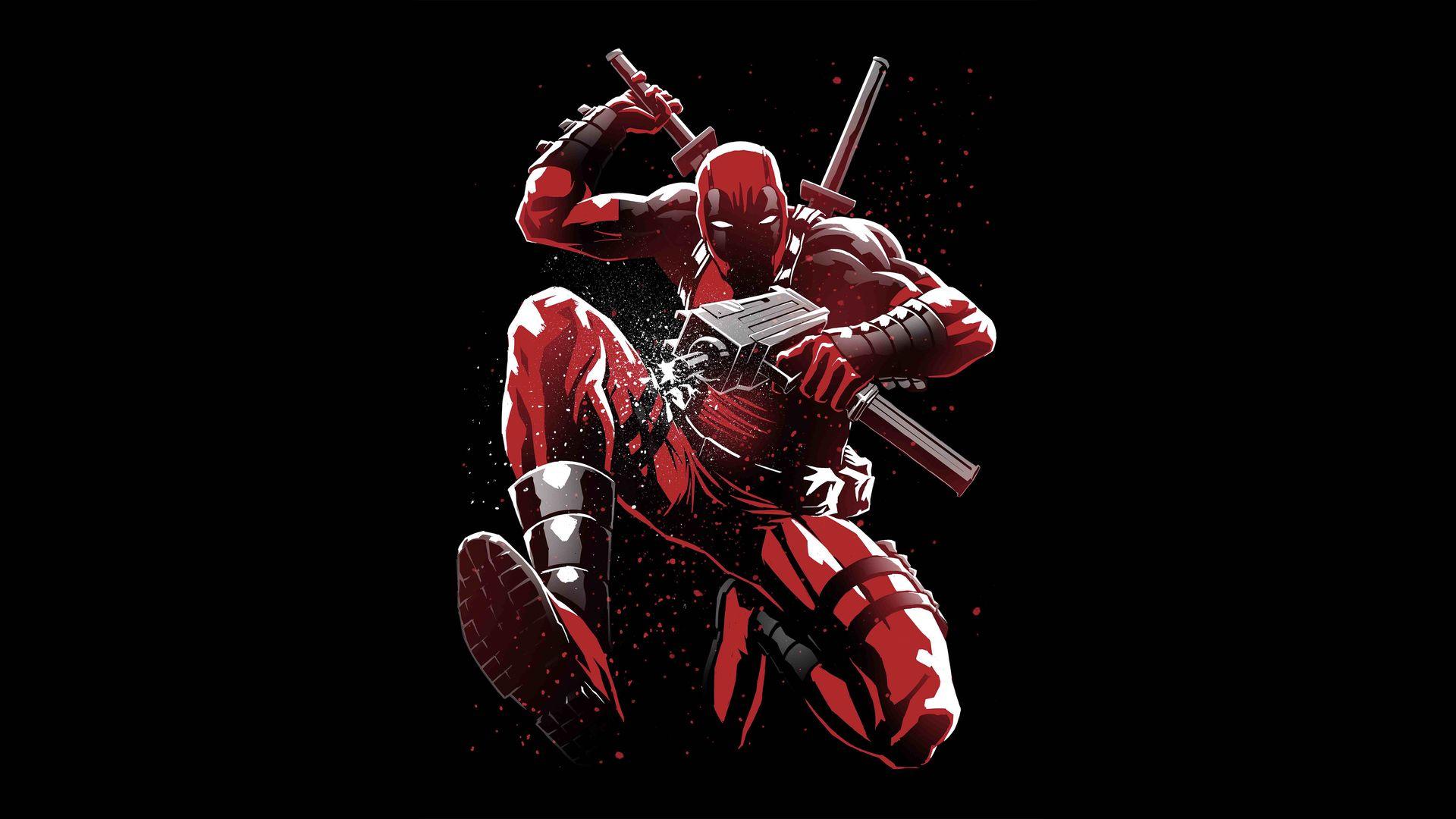 Cool Deadpool Download Wallpaper