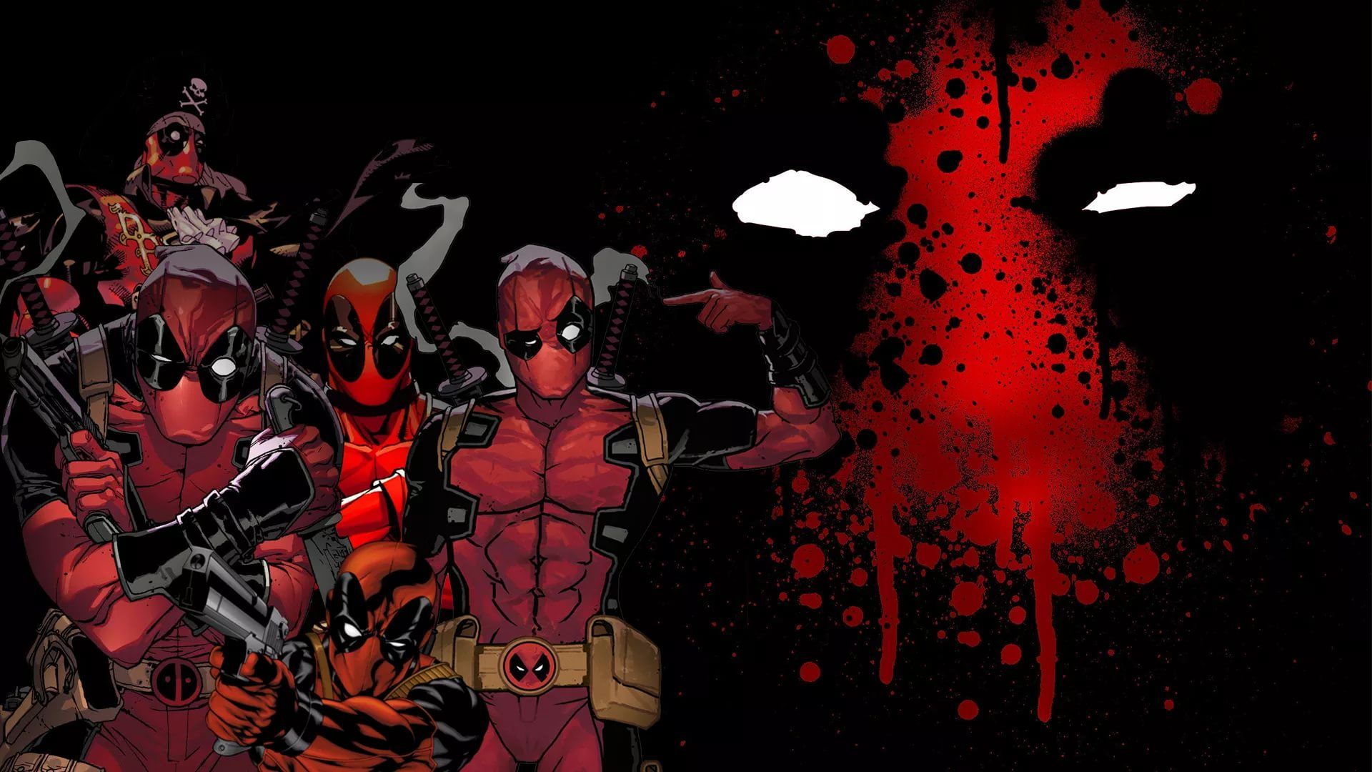 Cool Deadpool free download wallpaper