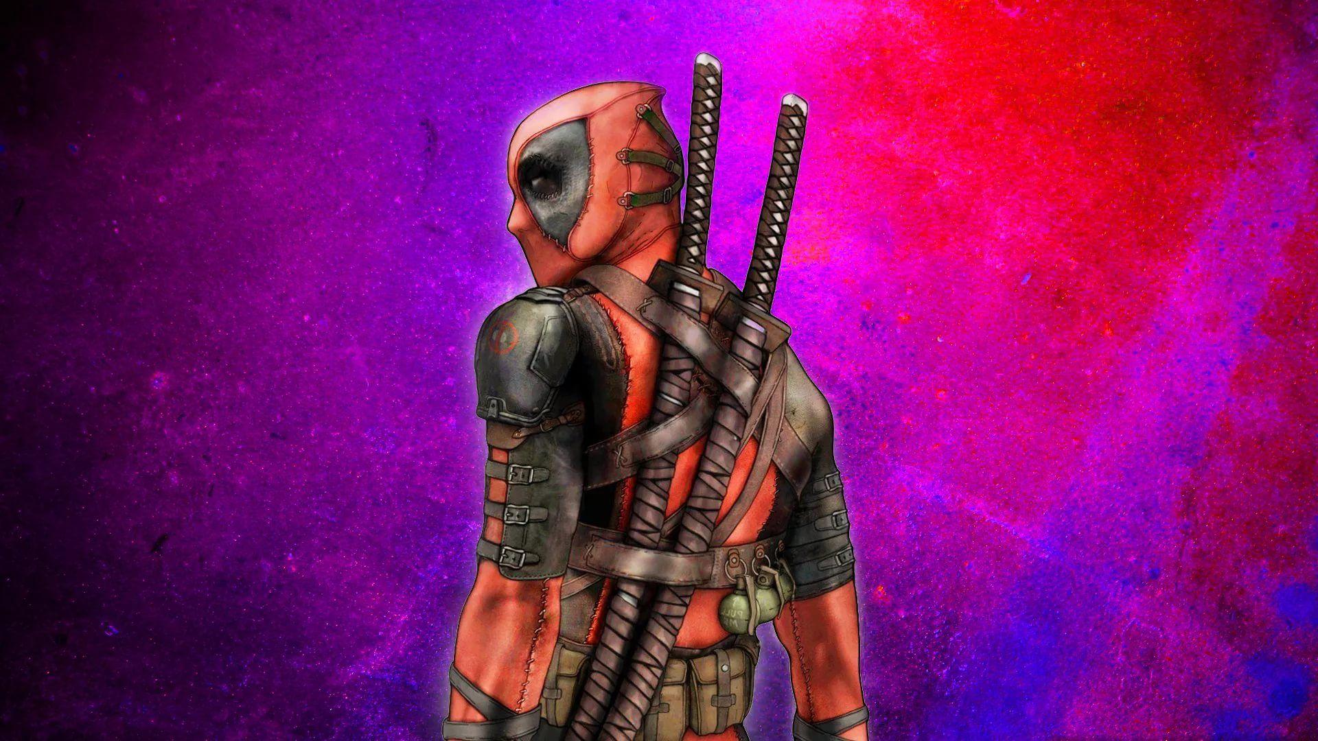 Cool Deadpool HD Desktop Wallpaper