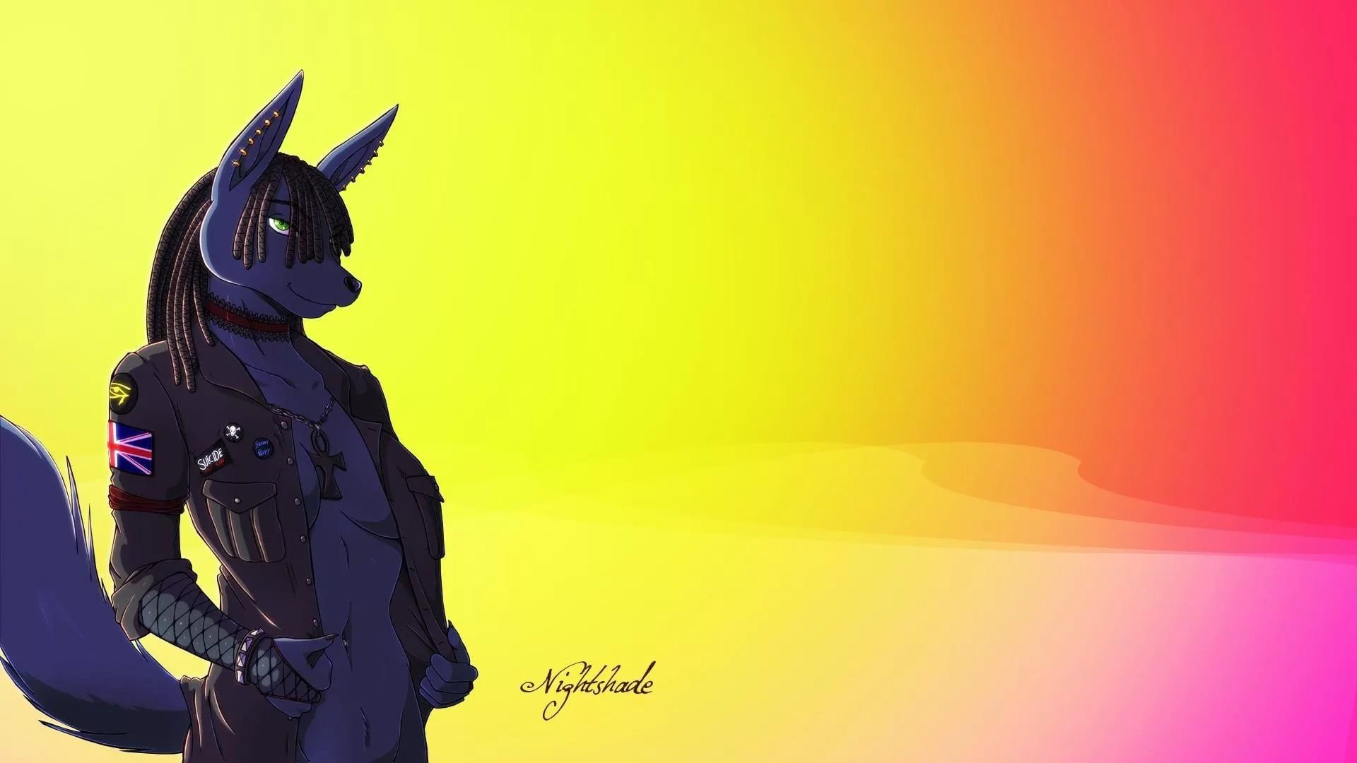 Cool Furry download wallpaper image