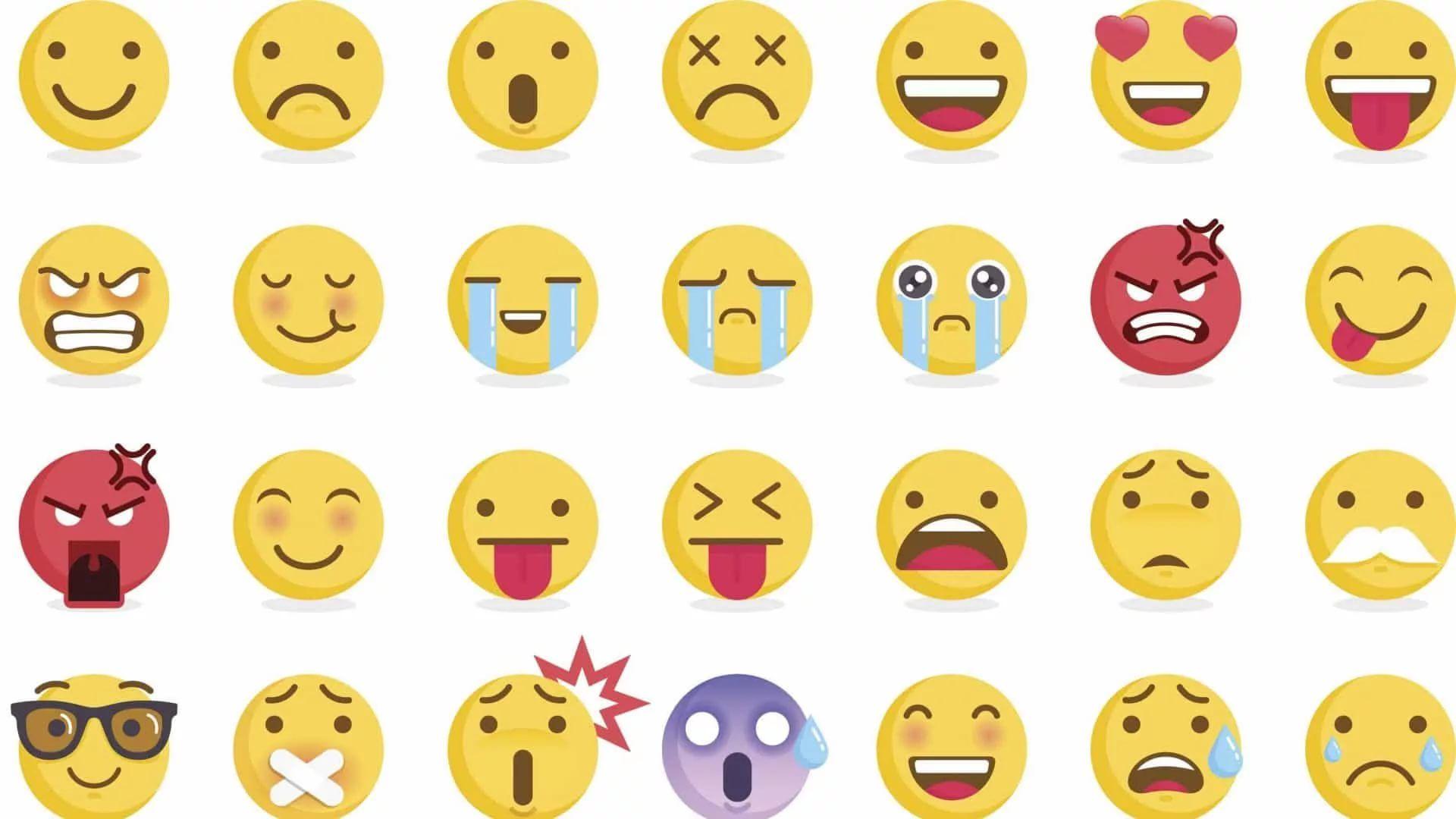 Cute Emoji Wallpaper Image