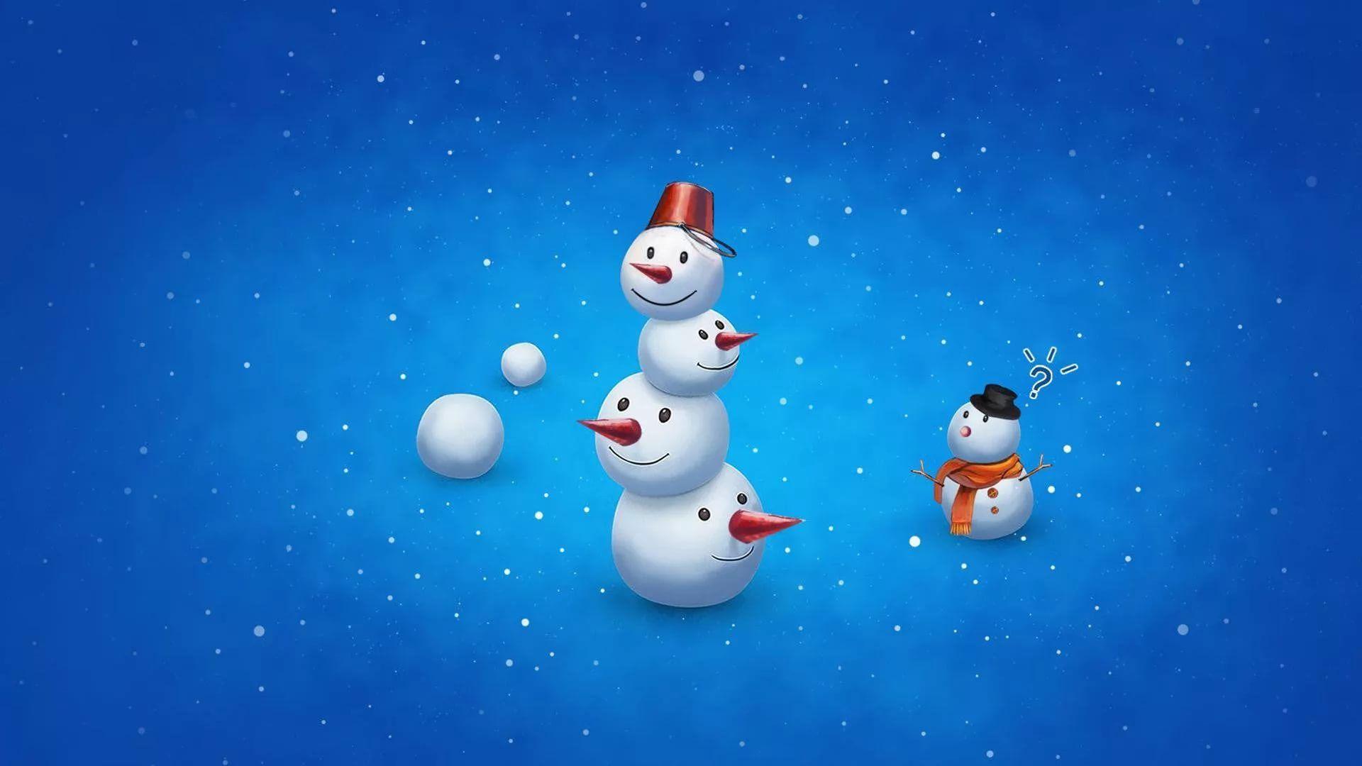 Cute Winter free hd wallpaper