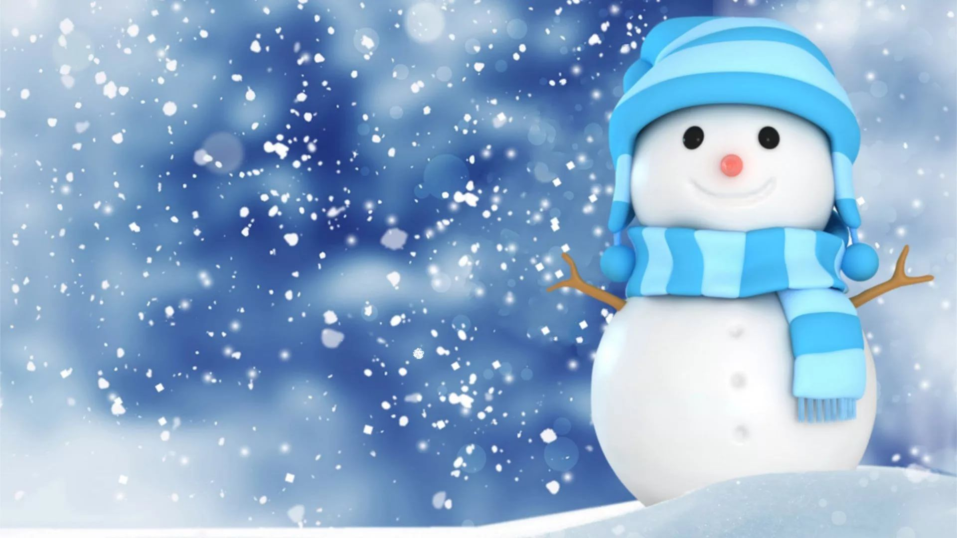 Cute Winter Background Wallpaper HD