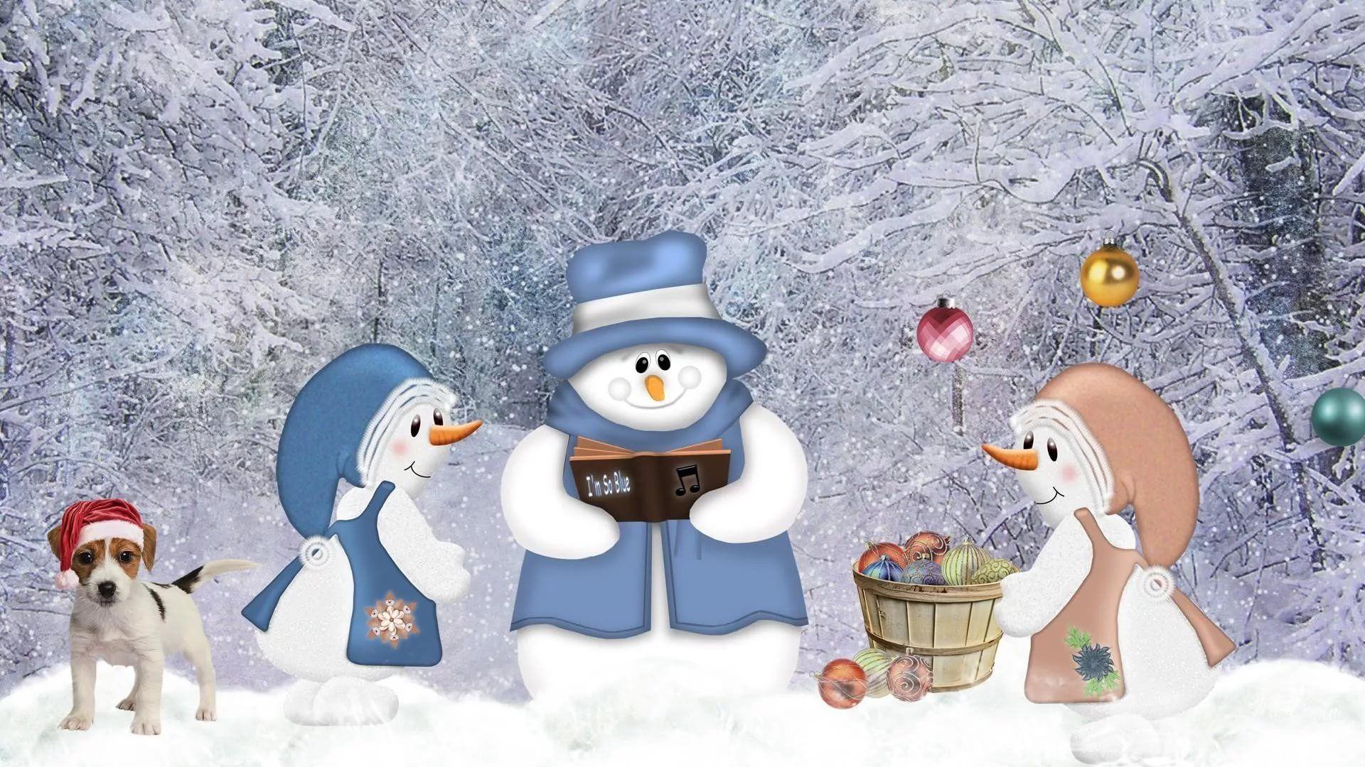 Cute Winter desktop wallpaper download