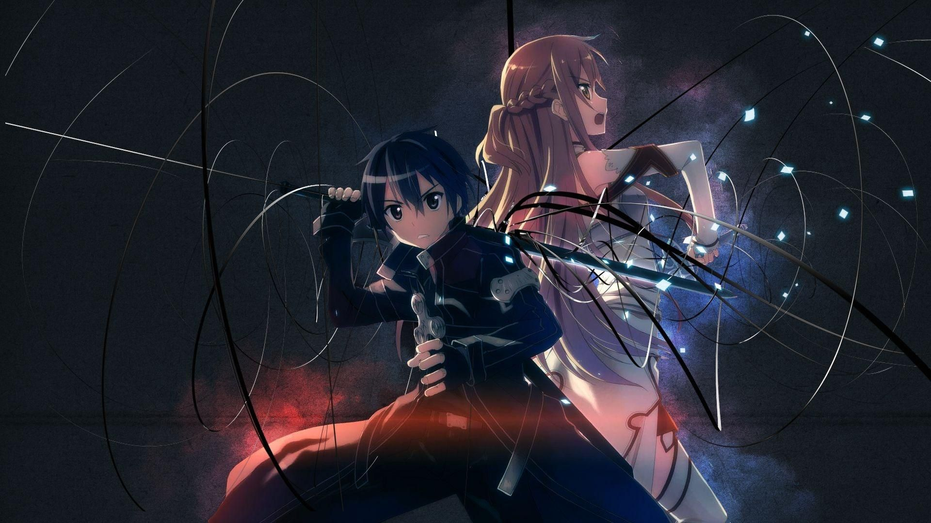 Dark Anime a wallpaper