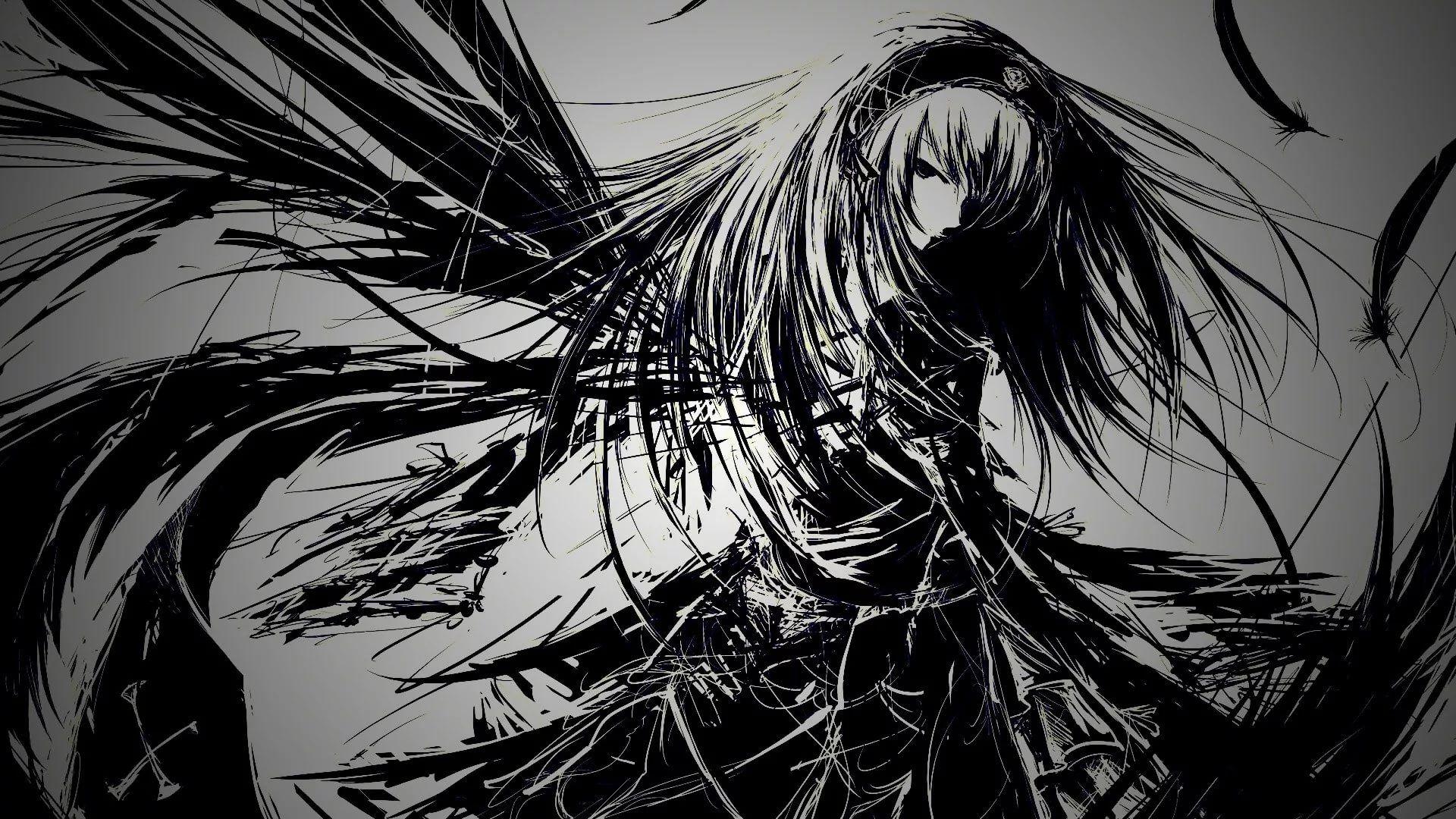 Dark Anime free download wallpaper