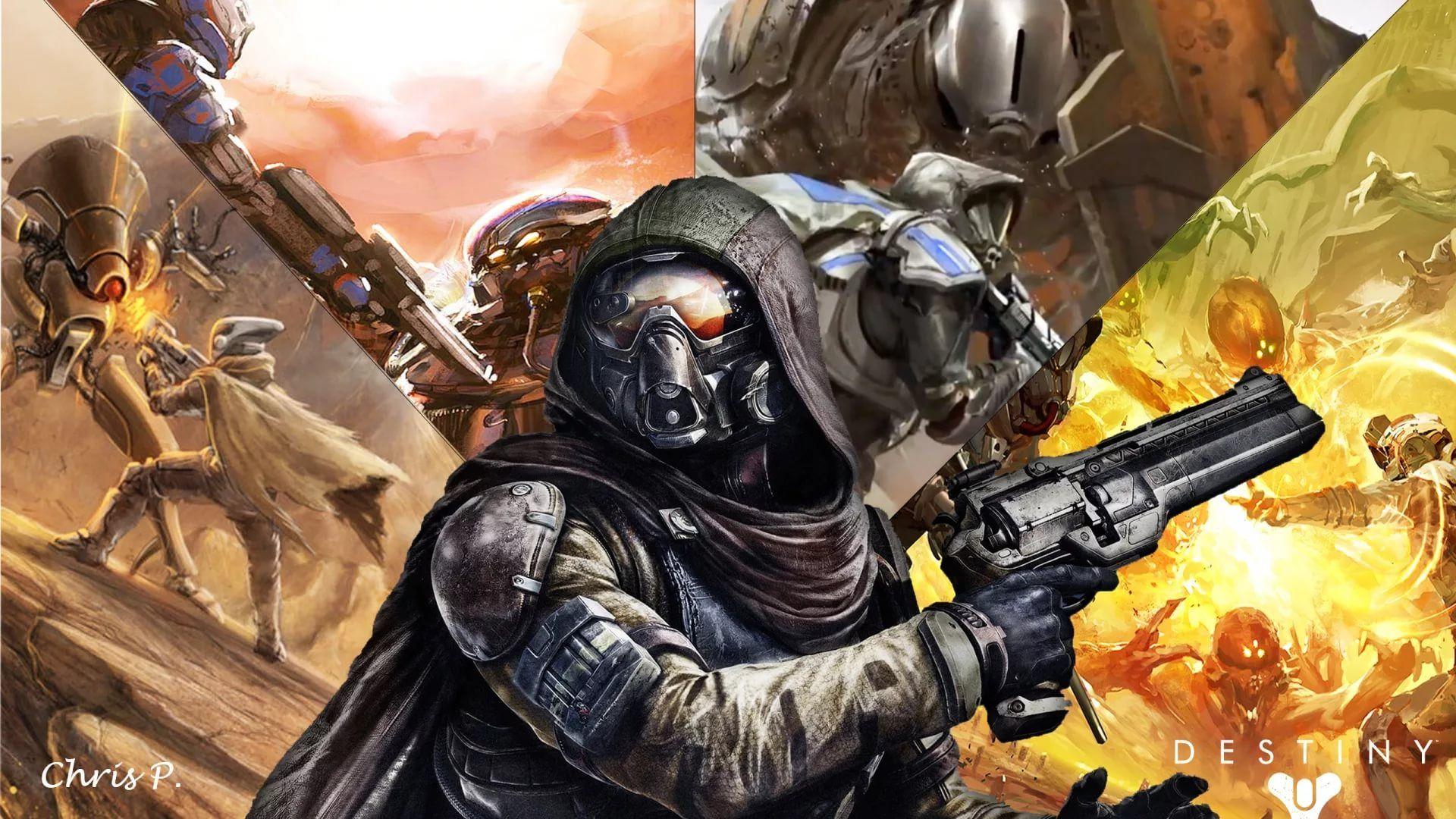 Destiny Hunter a wallpaper
