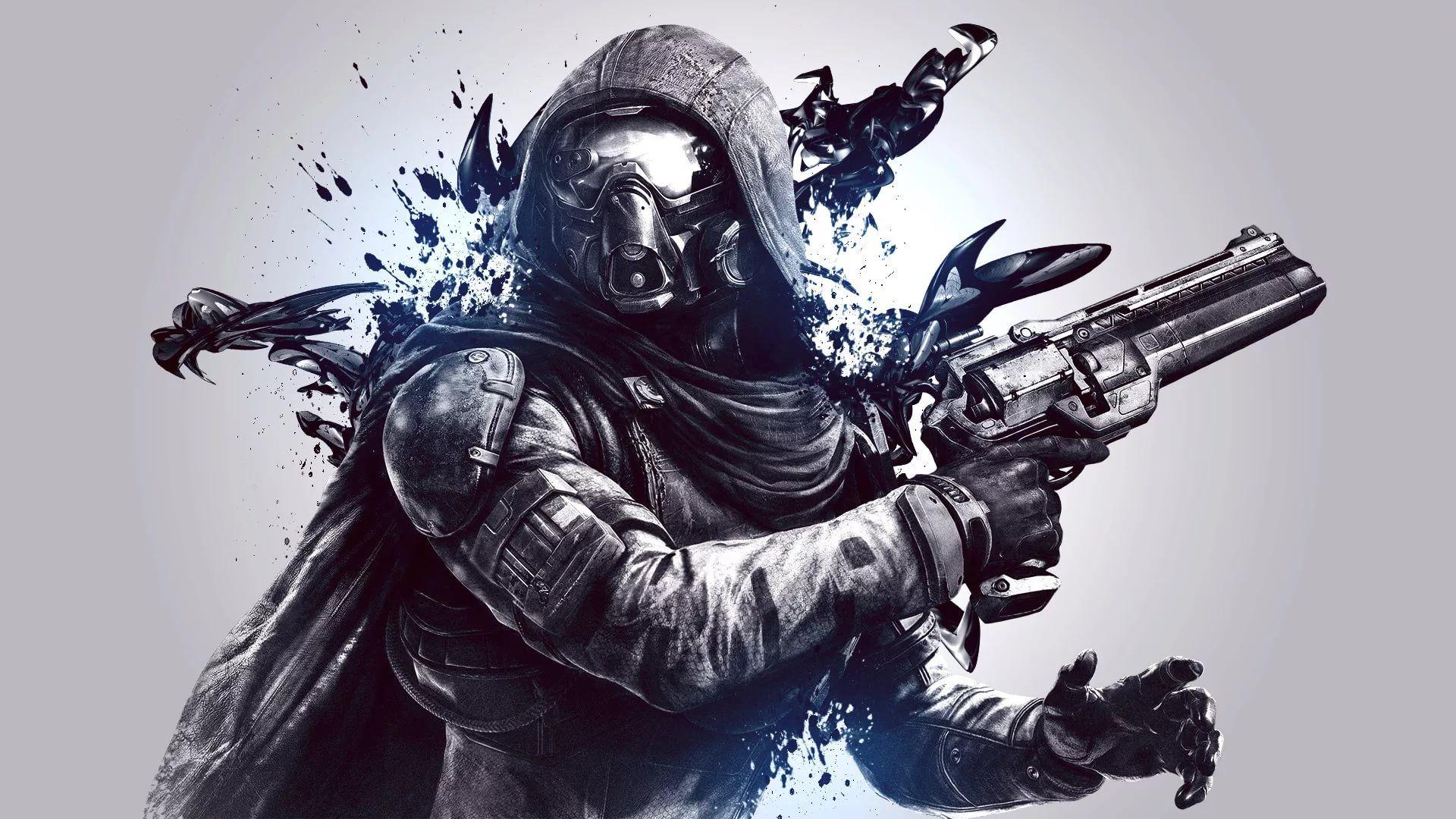 Destiny Hunter Desktop Wallpaper