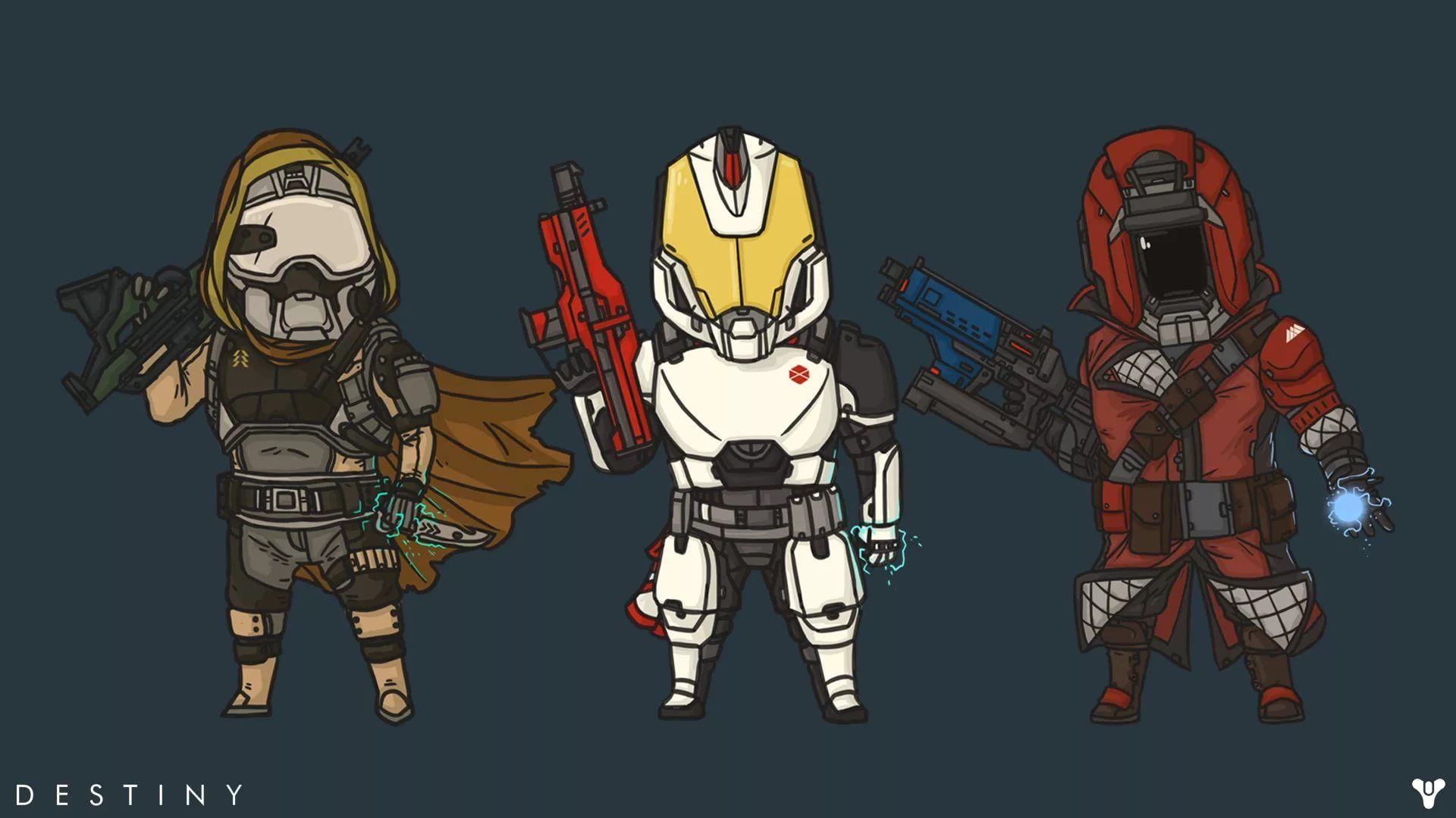 Destiny Hunter HD Wallpaper