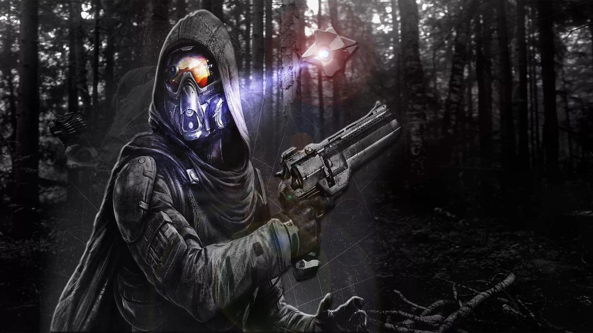 Destiny Hunter desktop wallpaper download