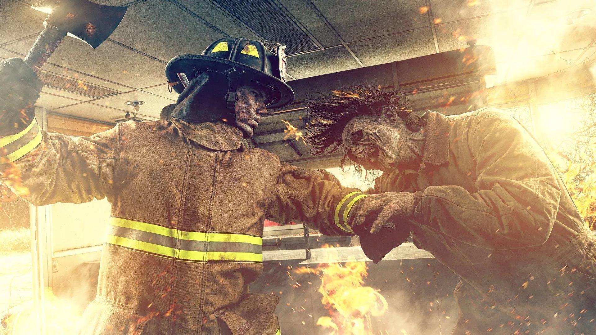 Firefighter Wallpaper
