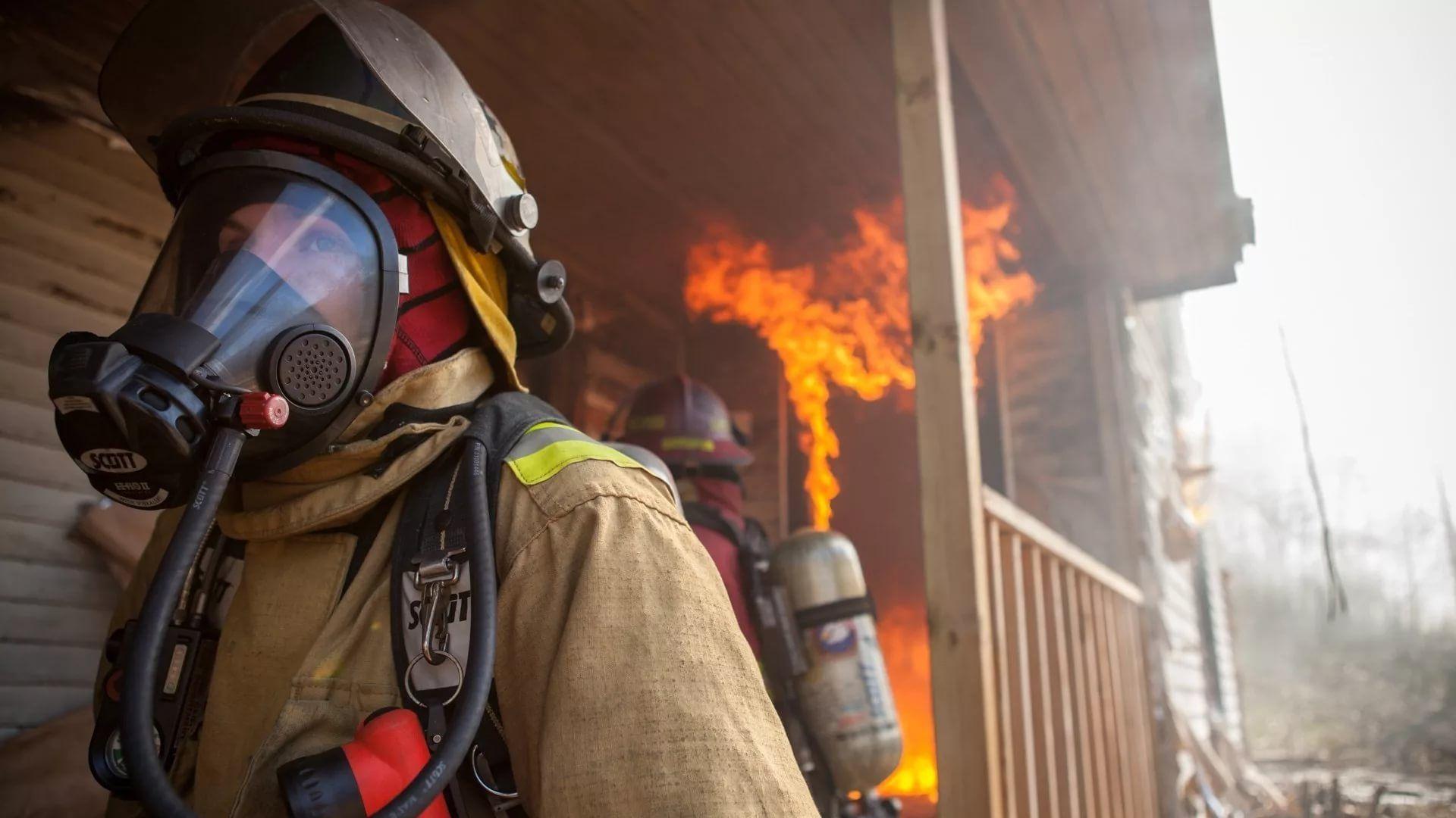 Firefighter Background Wallpaper HD