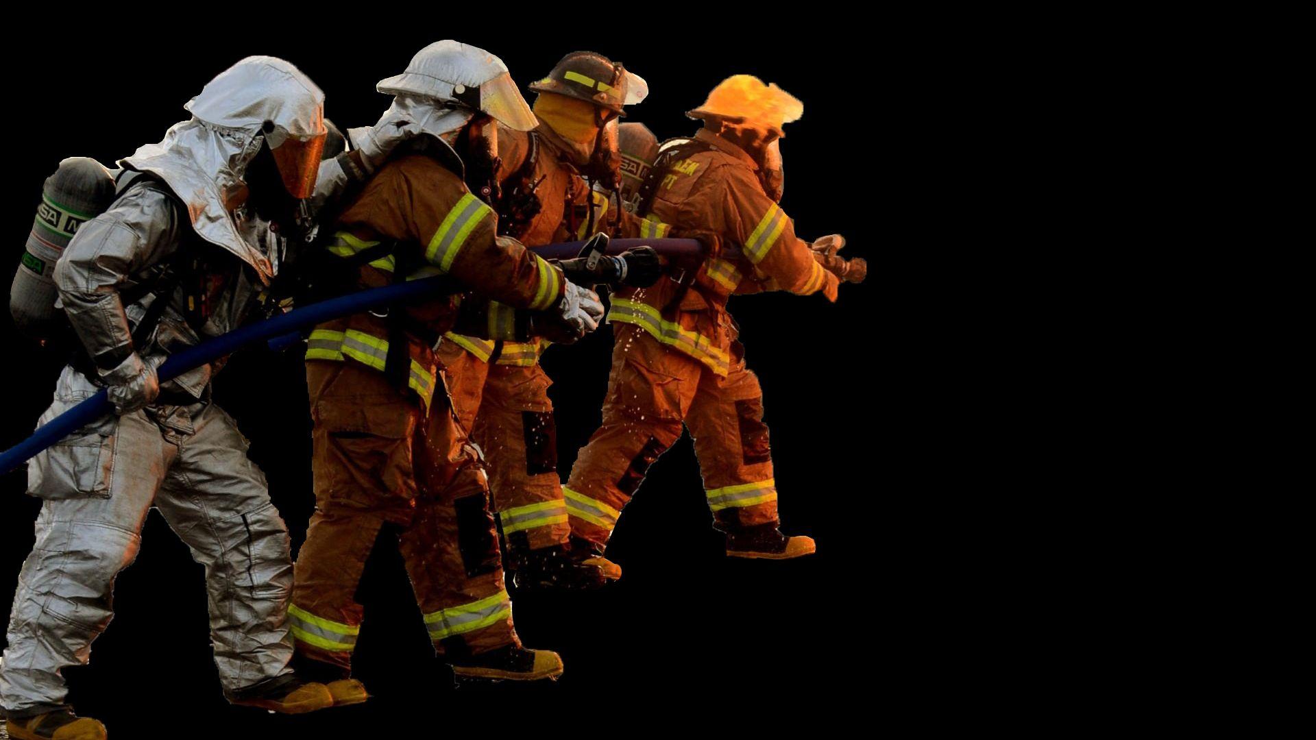 Firefighter Wallpaper Image