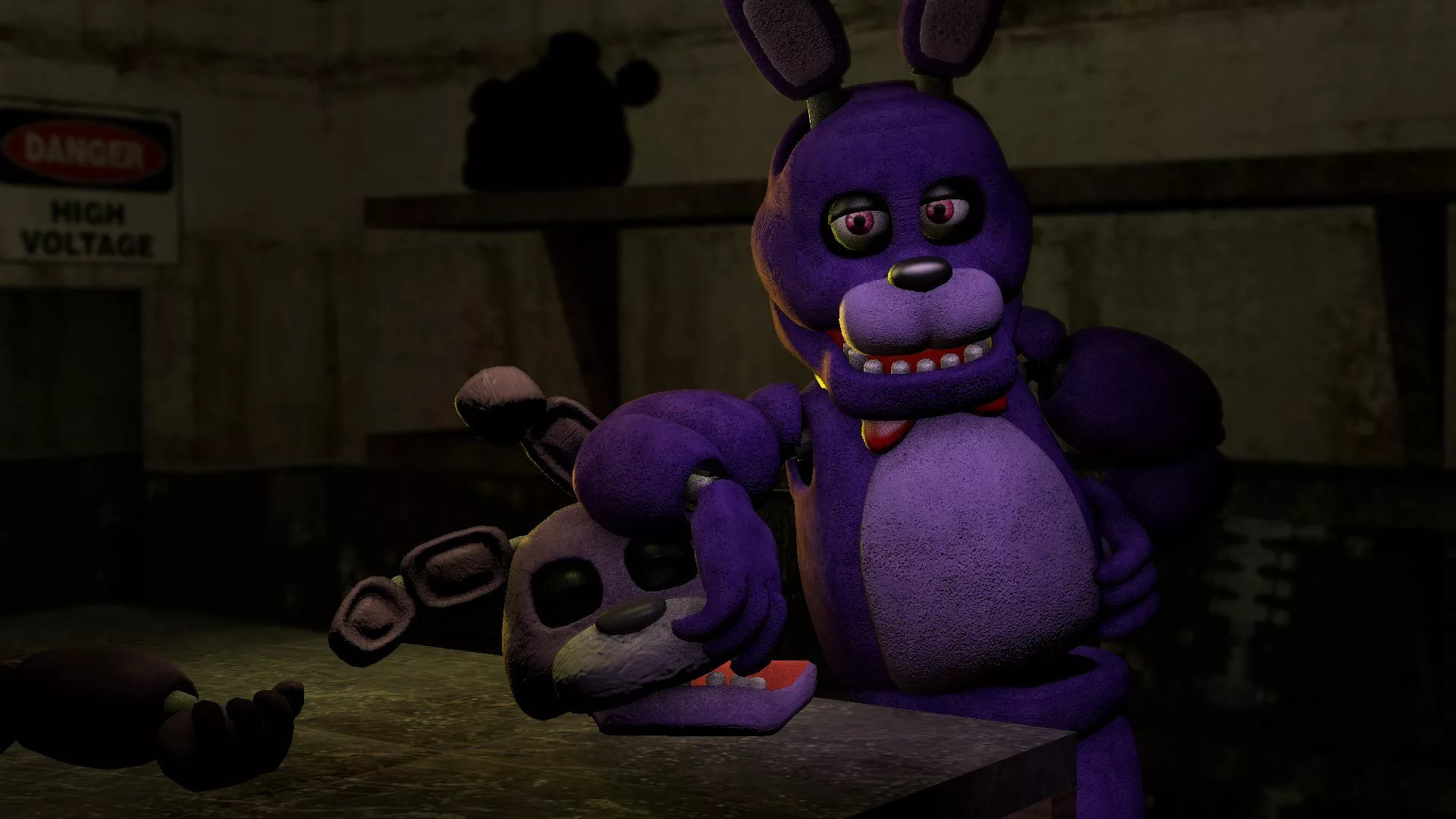 FNAF Bonnie full screen hd wallpaper