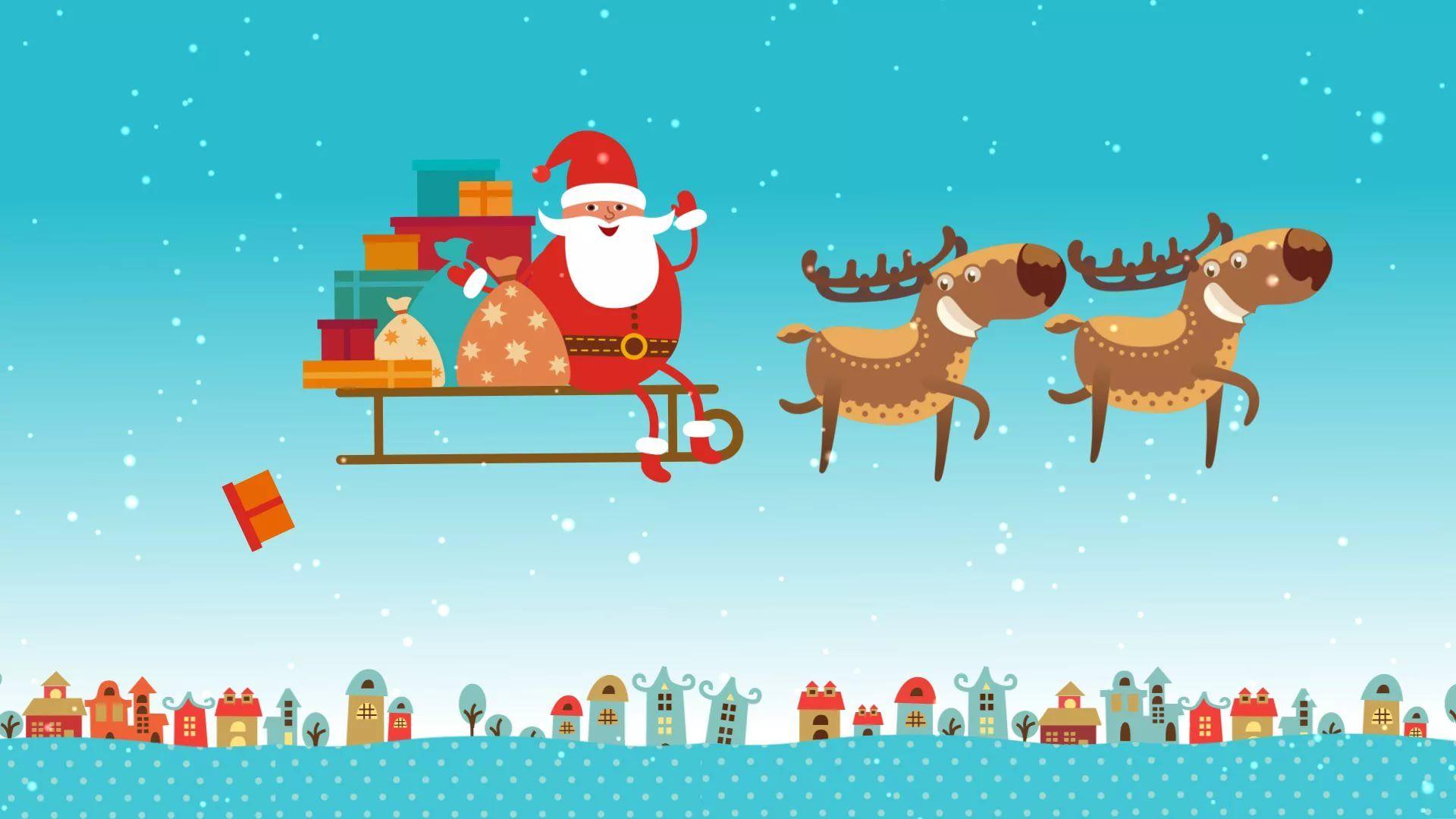 Funny Christmas pc wallpaper