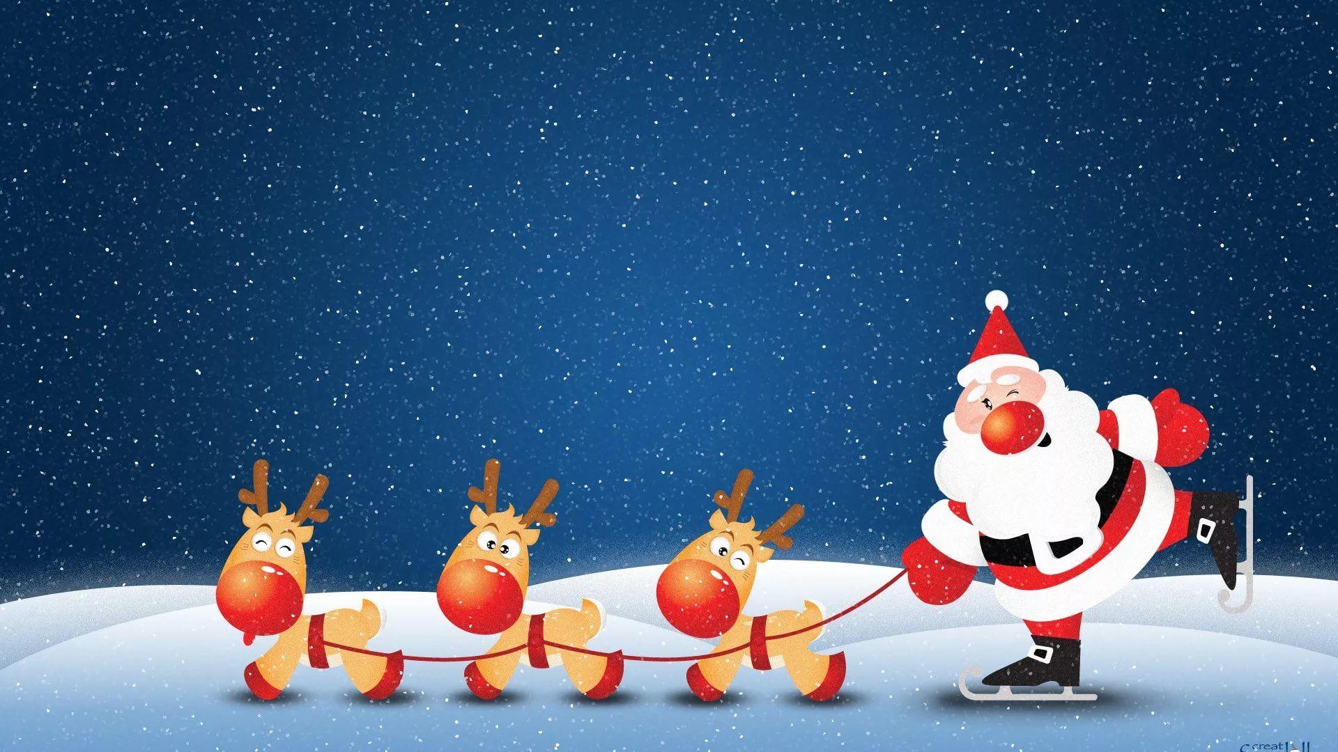 Funny Christmas Cool Wallpaper