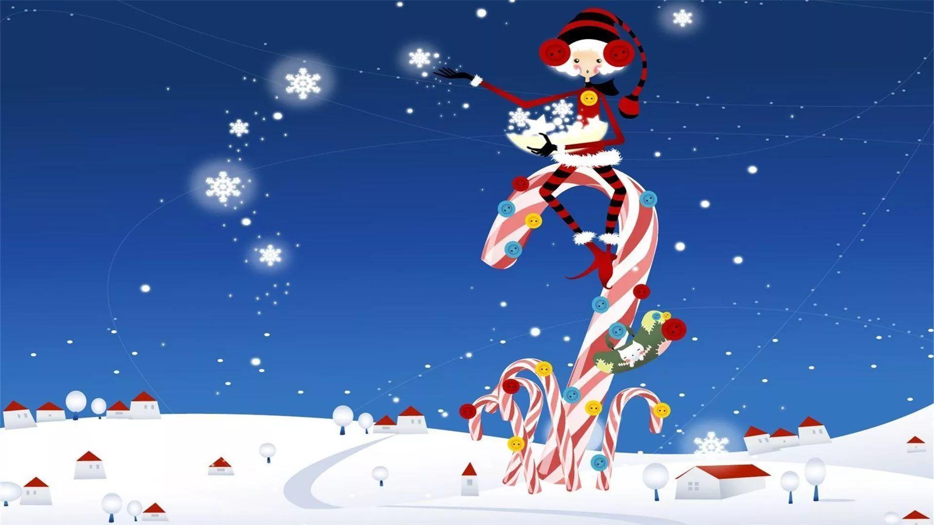 Funny Christmas HD 1080 wallpaper