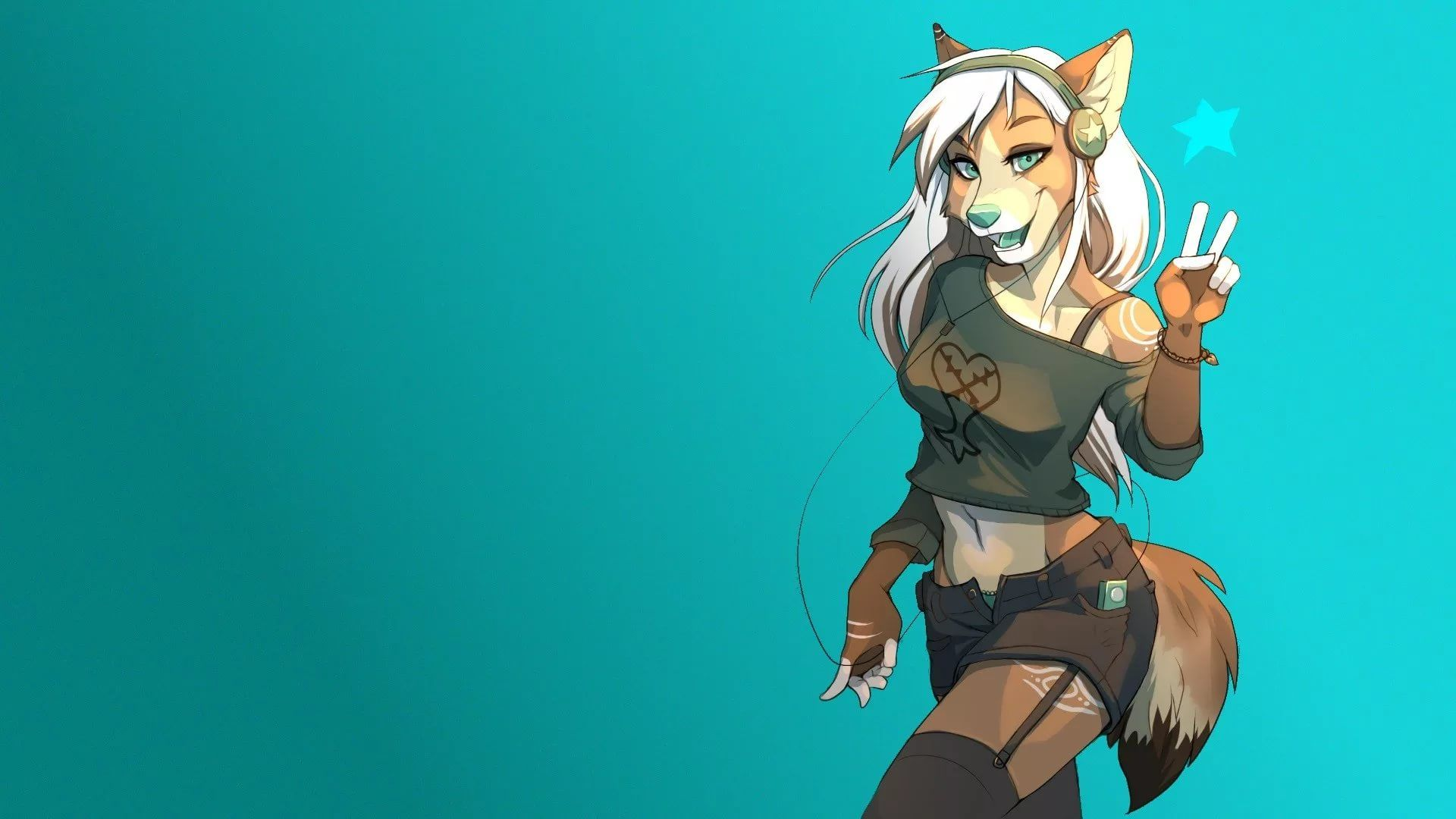 Furry Background wallpaper photo