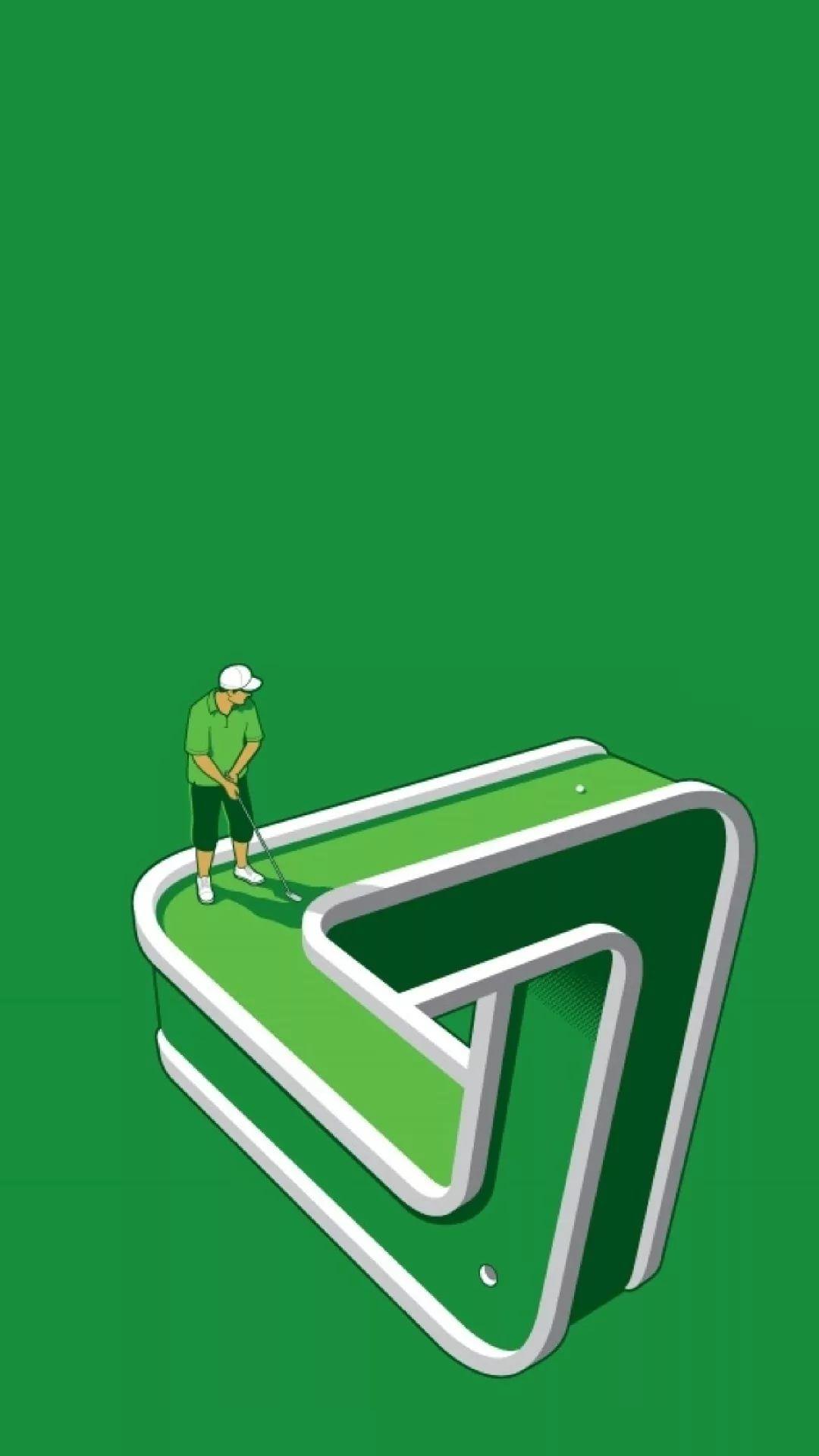 Golf iPhone wallpaper