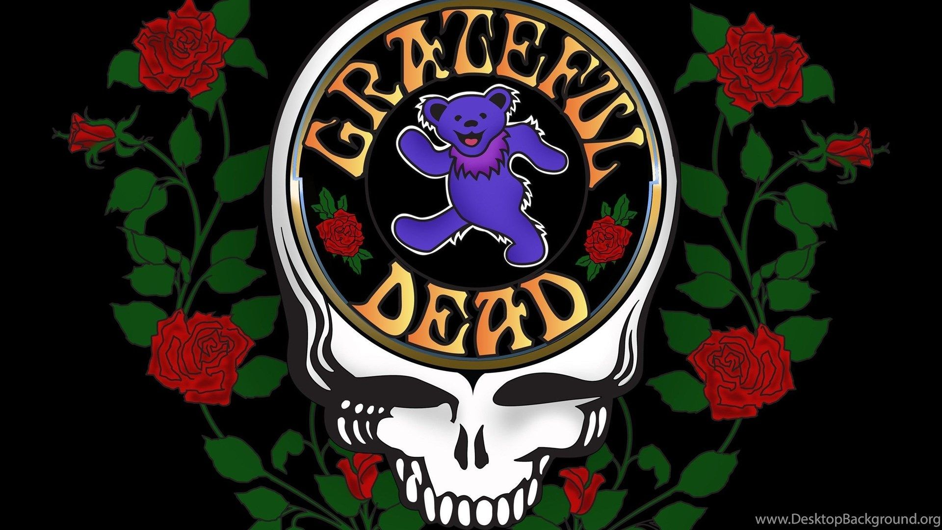 Grateful Dead wallpaper theme