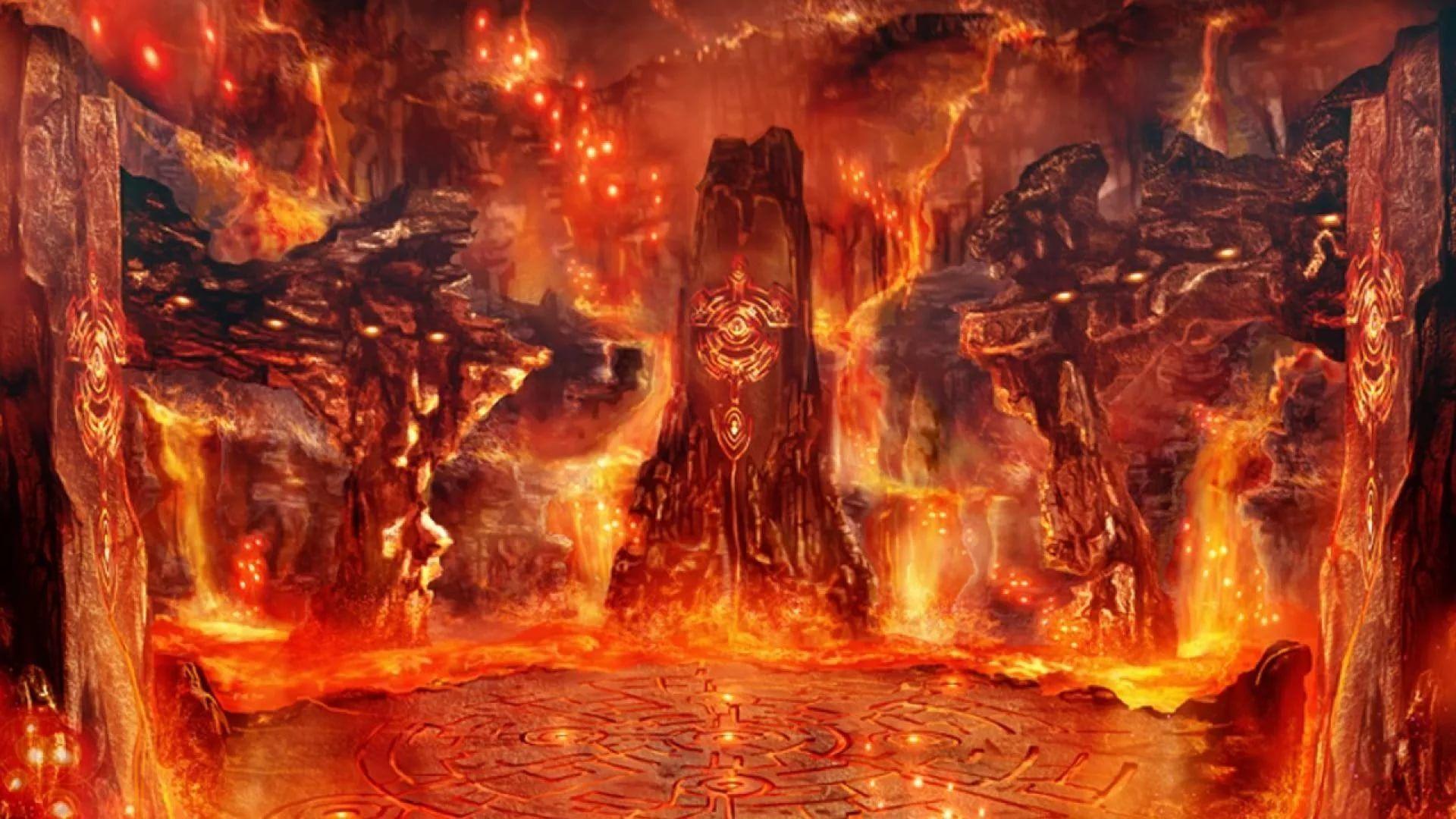 Hell HD 1080 wallpaper