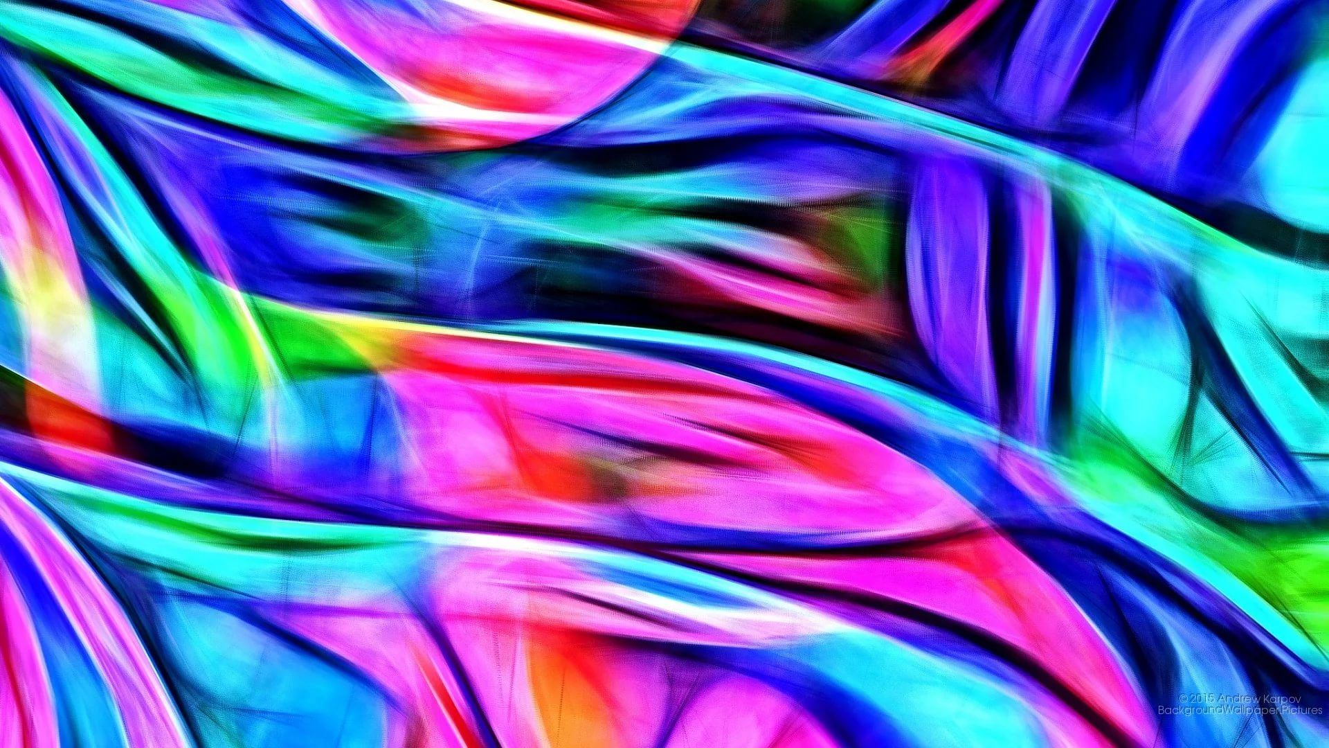 Holographic Cool HD Wallpaper