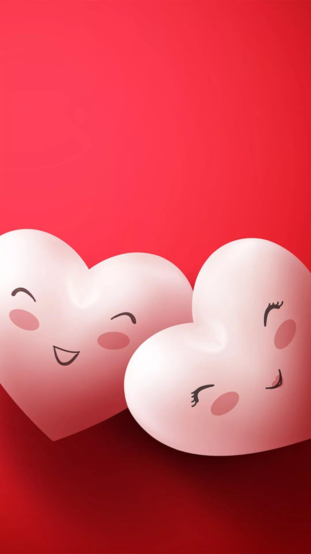 I Kiss U phone wallpaper