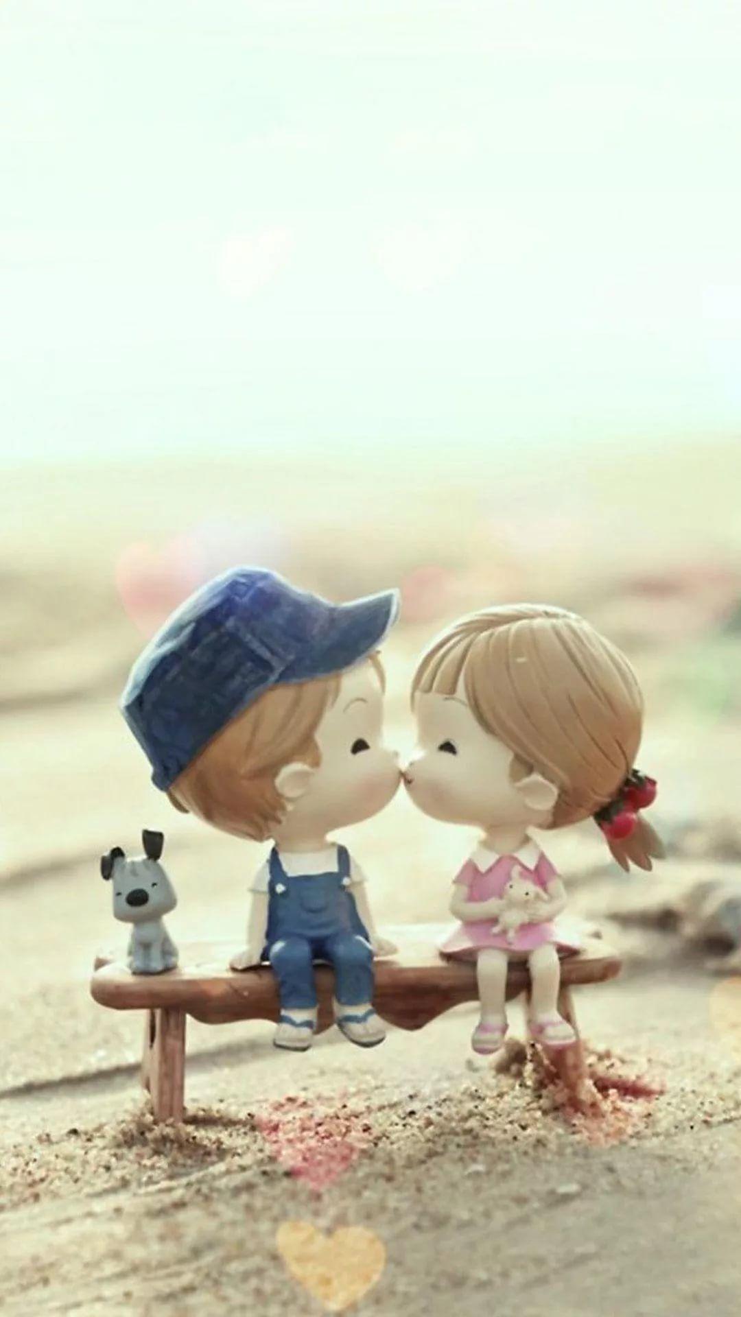 I Kiss U phone background