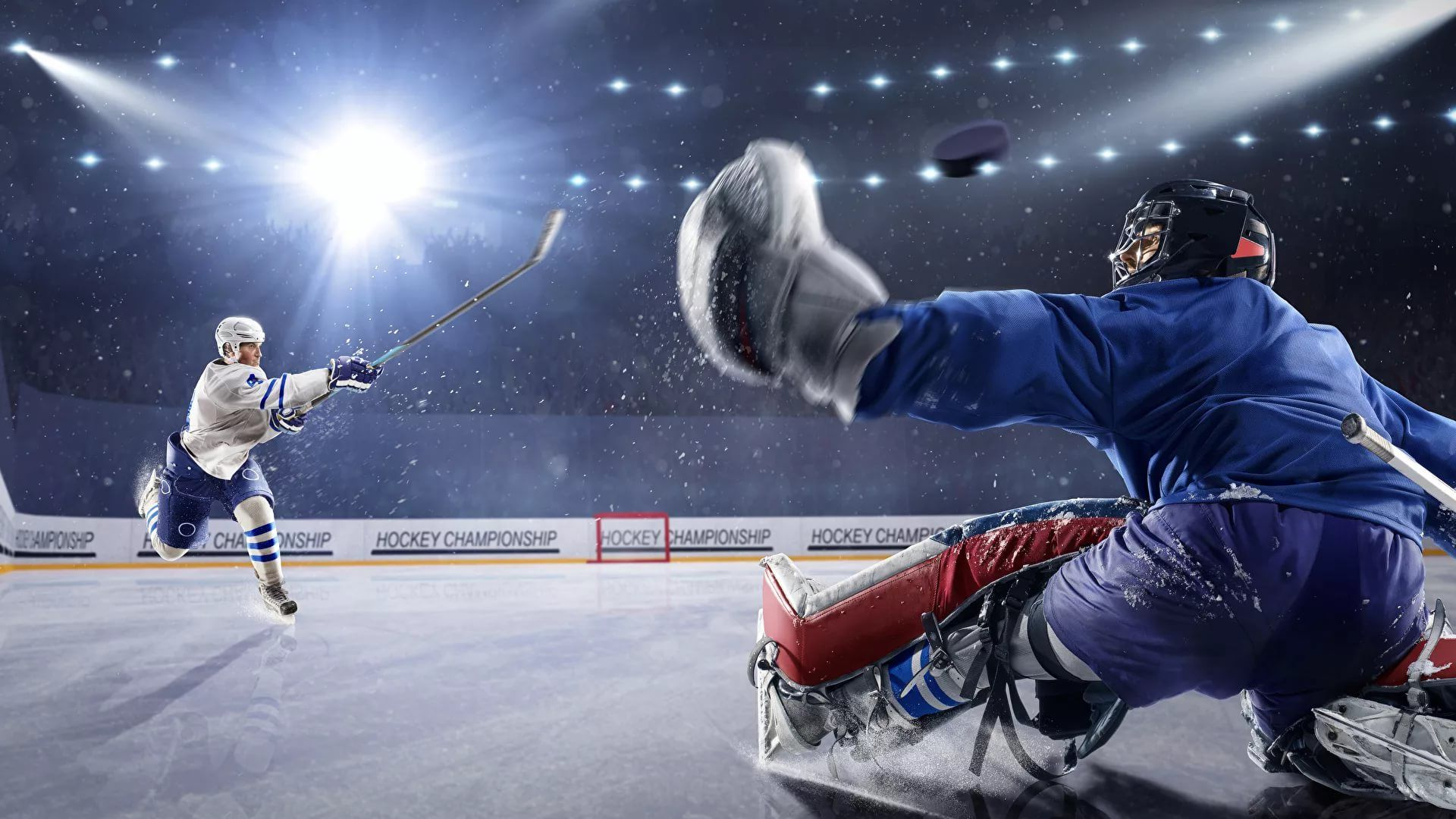 Ice Hockey HD Wallpaper
