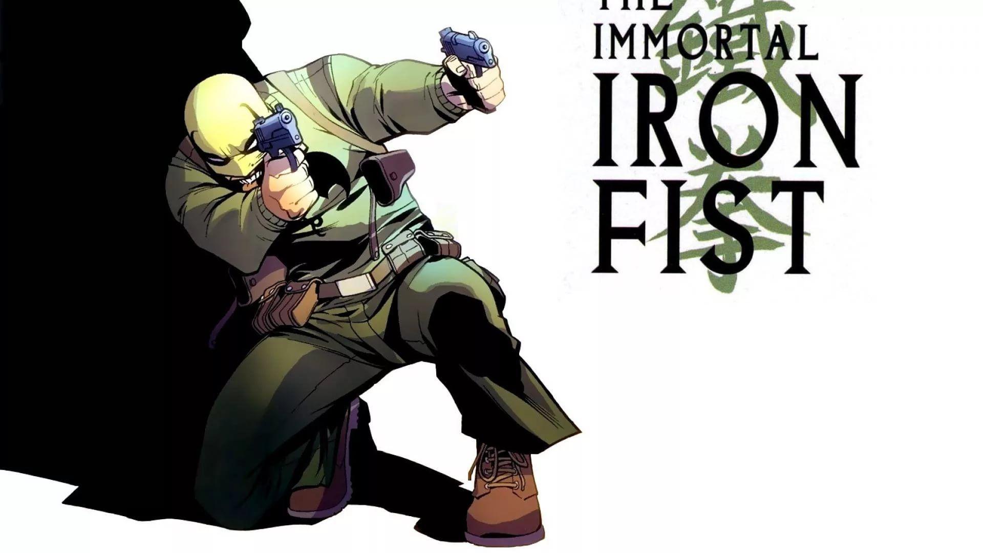Iron Fist Desktop Wallpaper