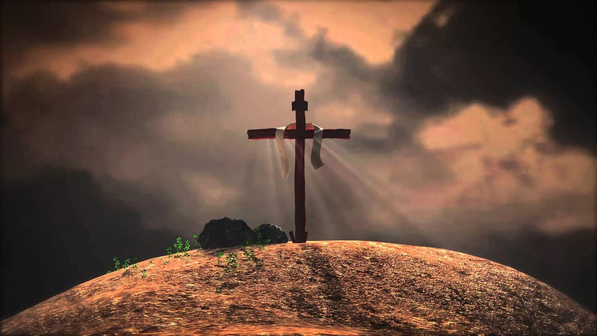 Jesus Cross download wallpaper image