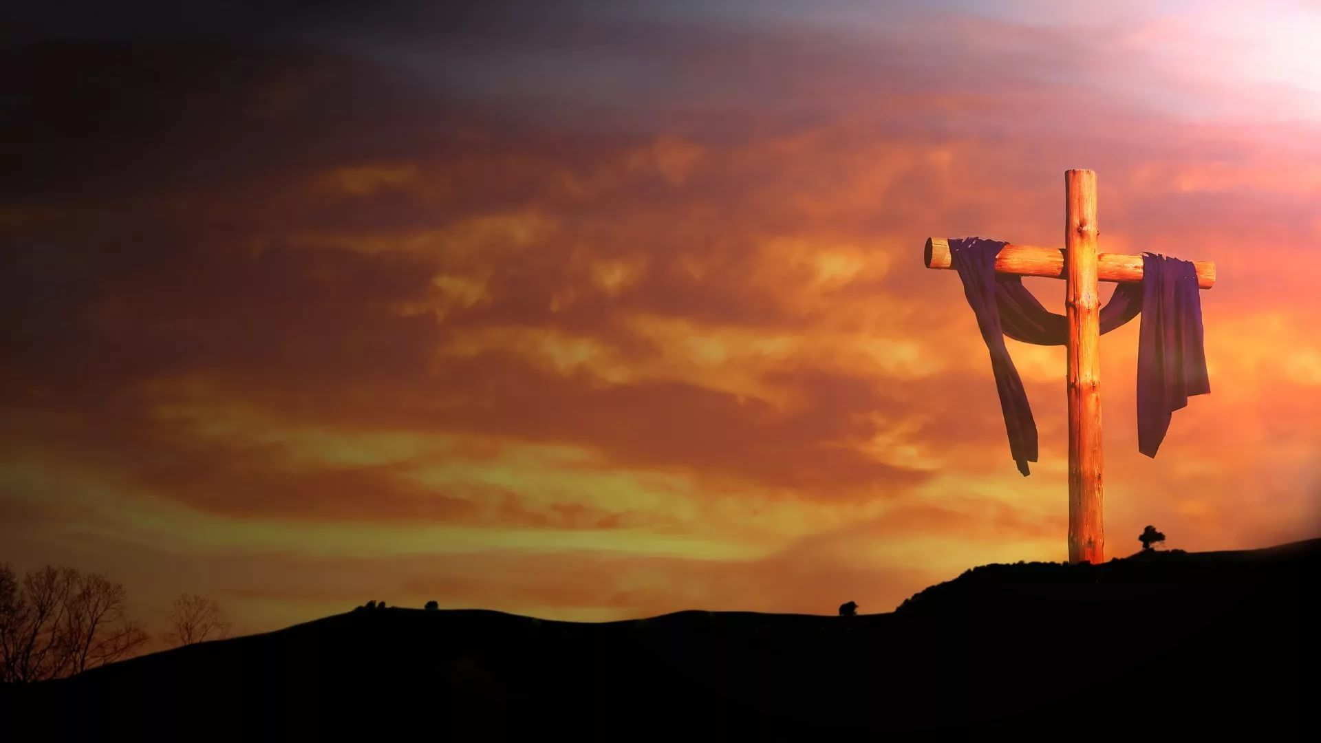 Jesus Cross Free Desktop Wallpaper